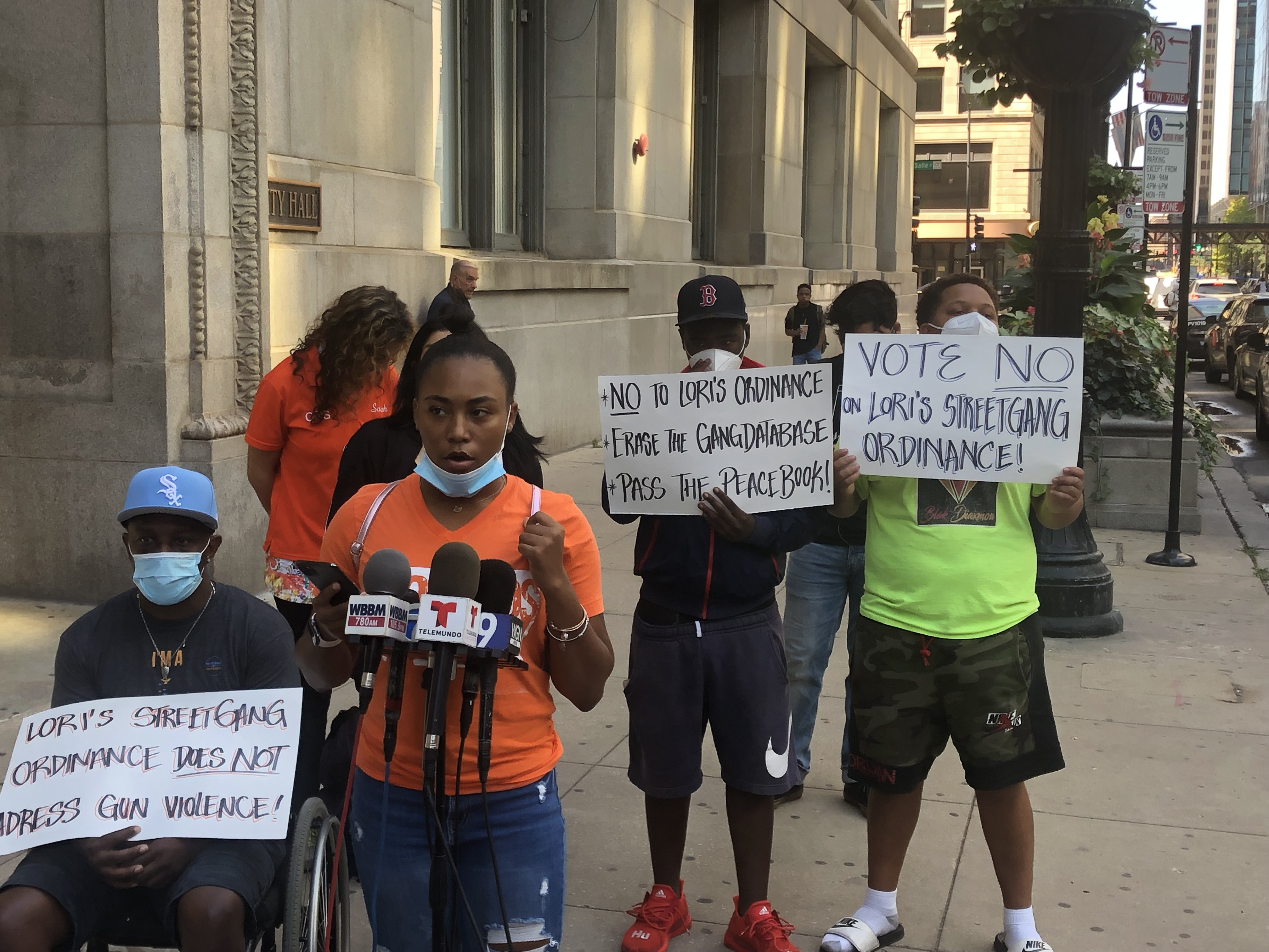 Miracle Boyd of Good Kids Mad City discusses her opposition to a proposed ordinance that would allow the city to sue gang members and seize their assets.