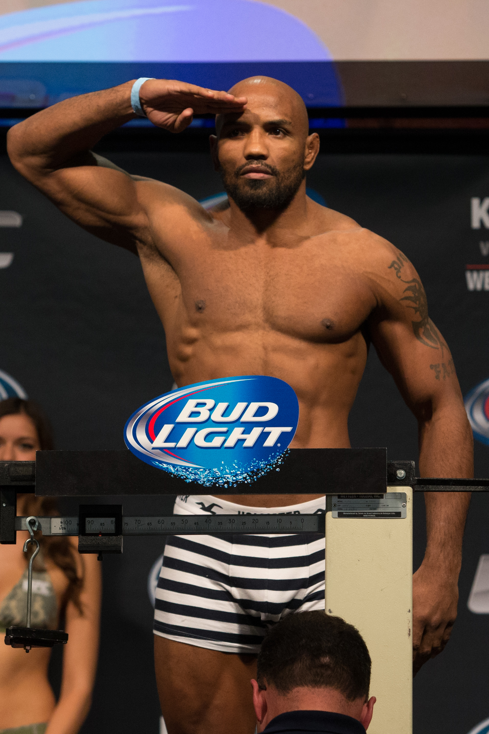 UFC Fight For the Troops - Weigh-Ins