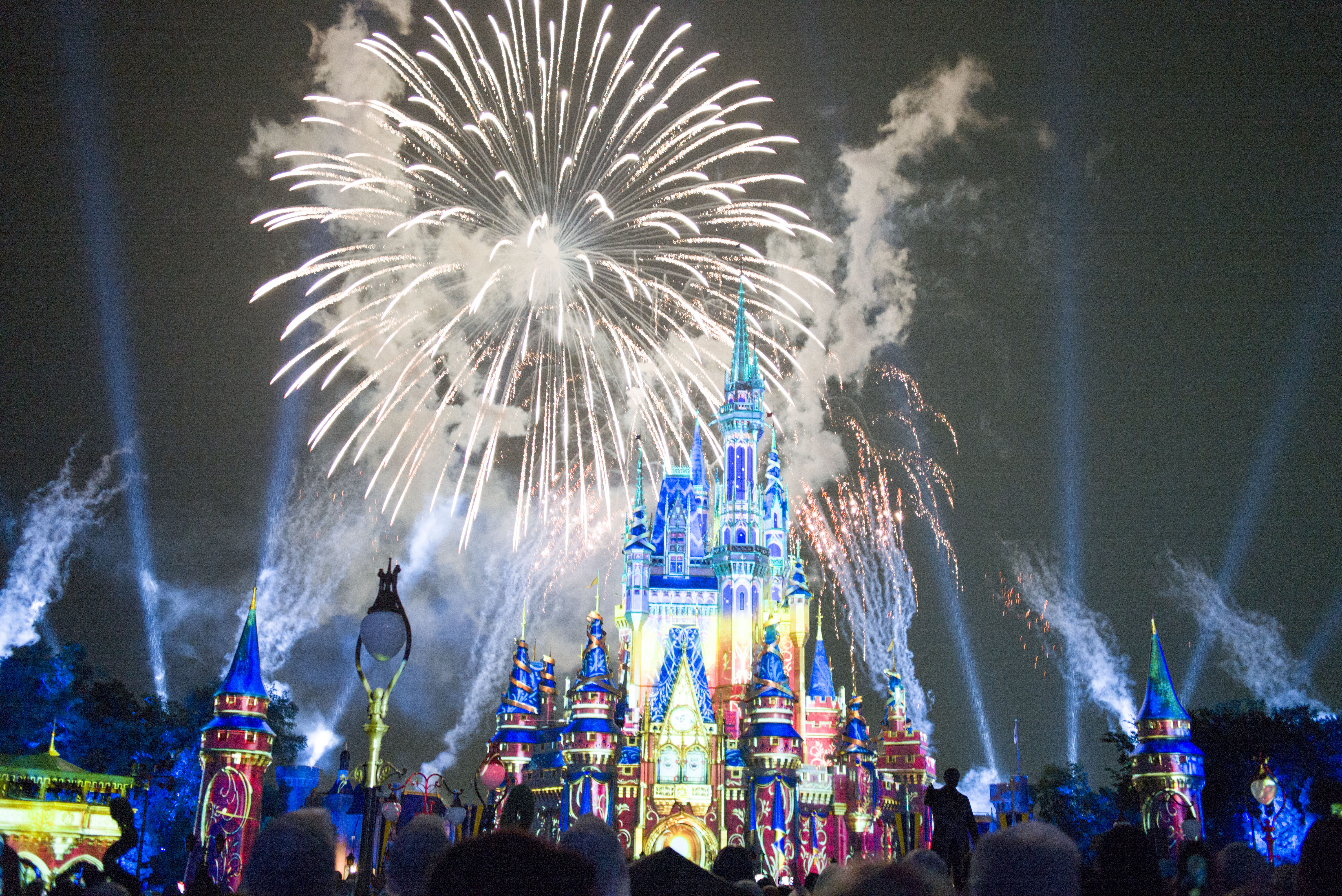 Firework Show Back To Walt Disney World Resort In Lake Buena Vista