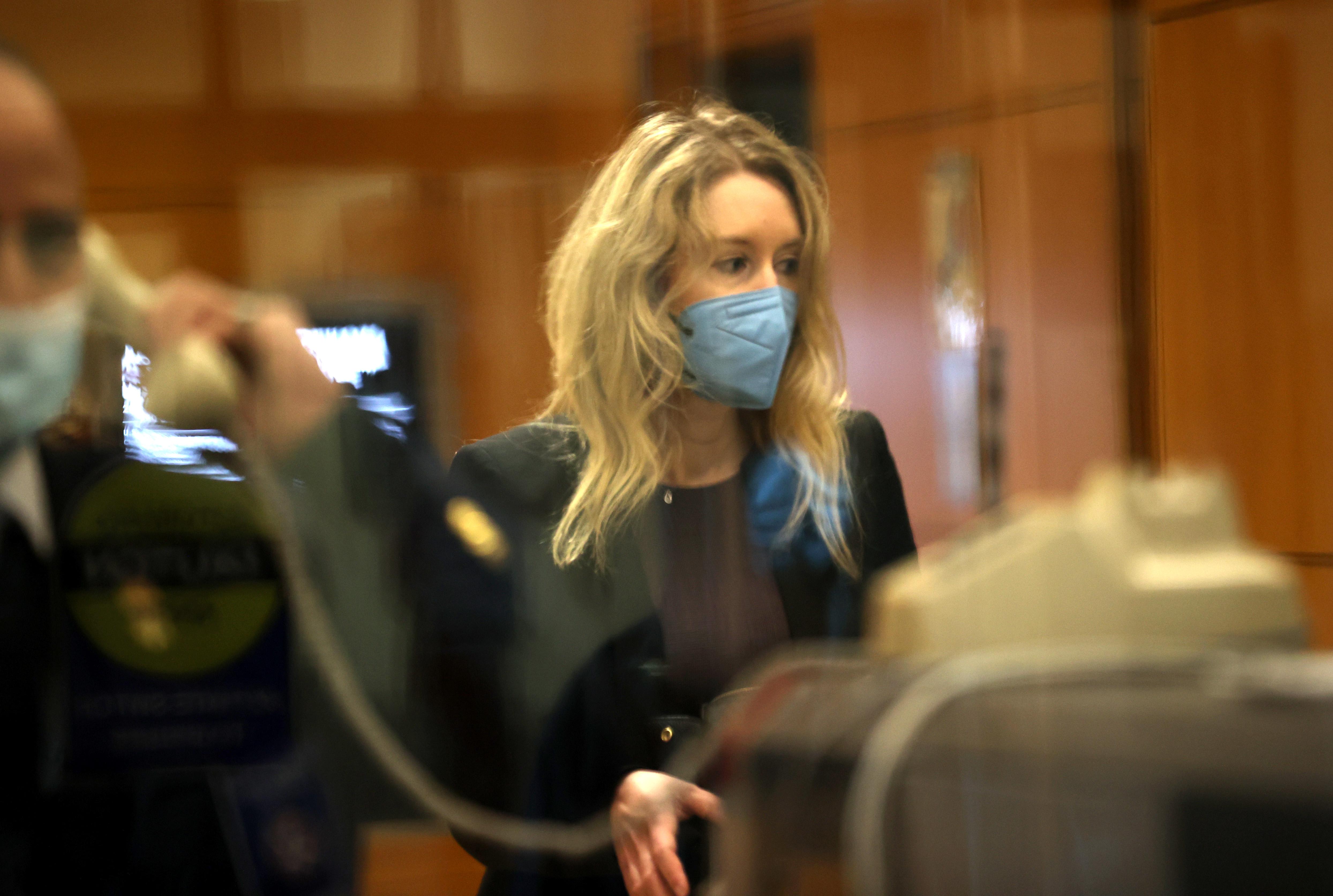 Elizabeth Holmes Theranos Trial Continues In California