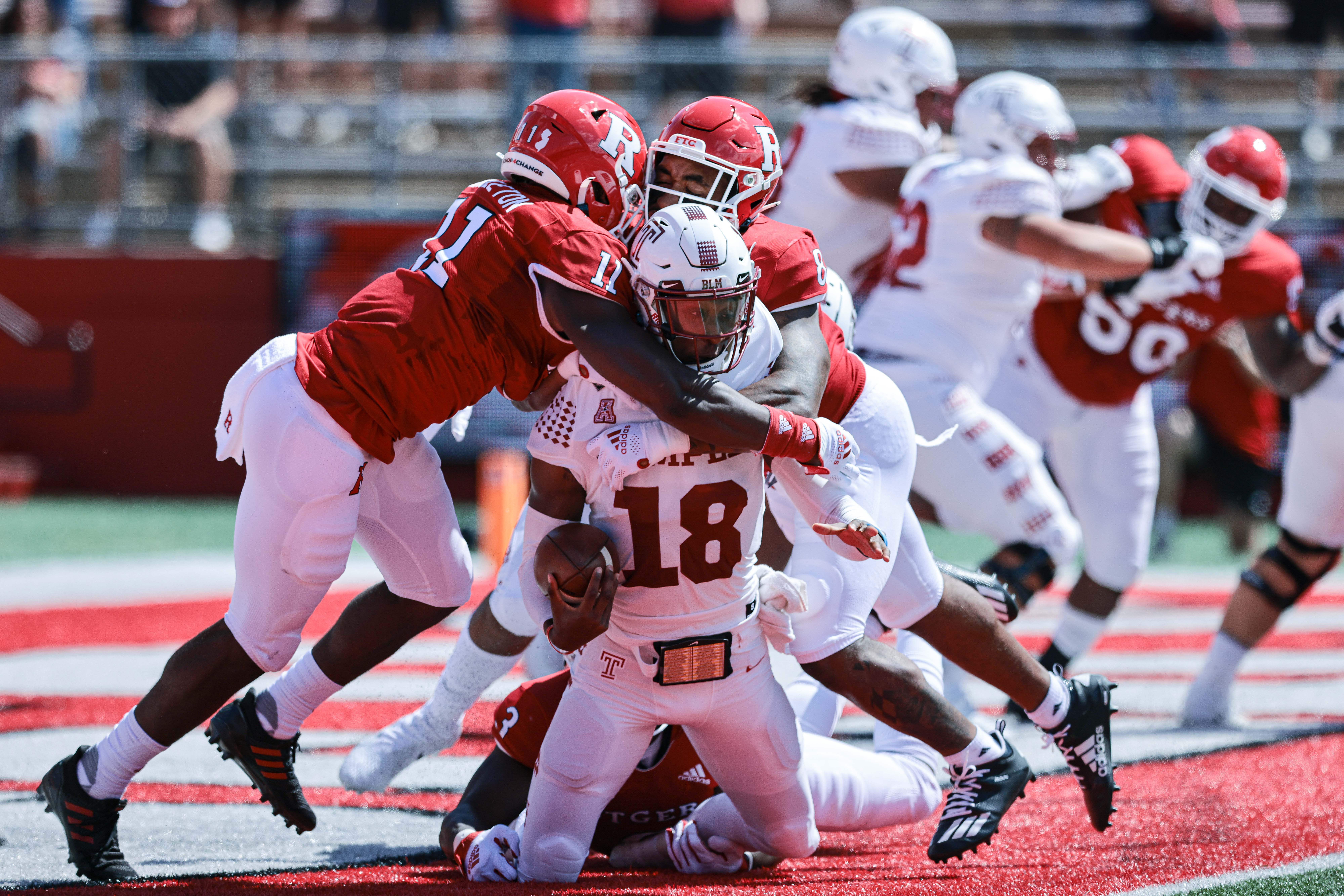 NCAA Football: Temple at Rutgers