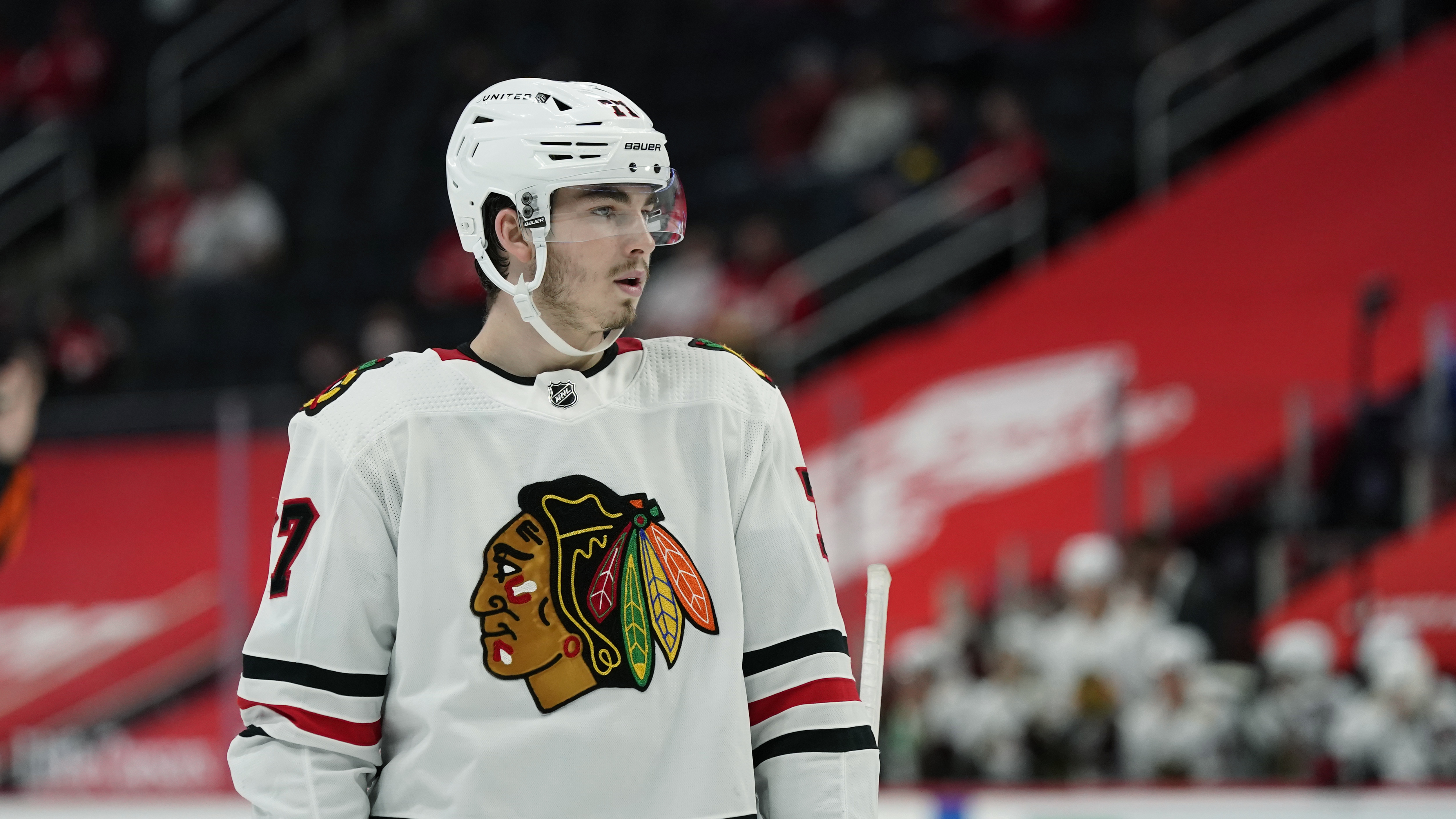 Kirby Dach expects to have a big season for the Blackhawks in 2021-22.