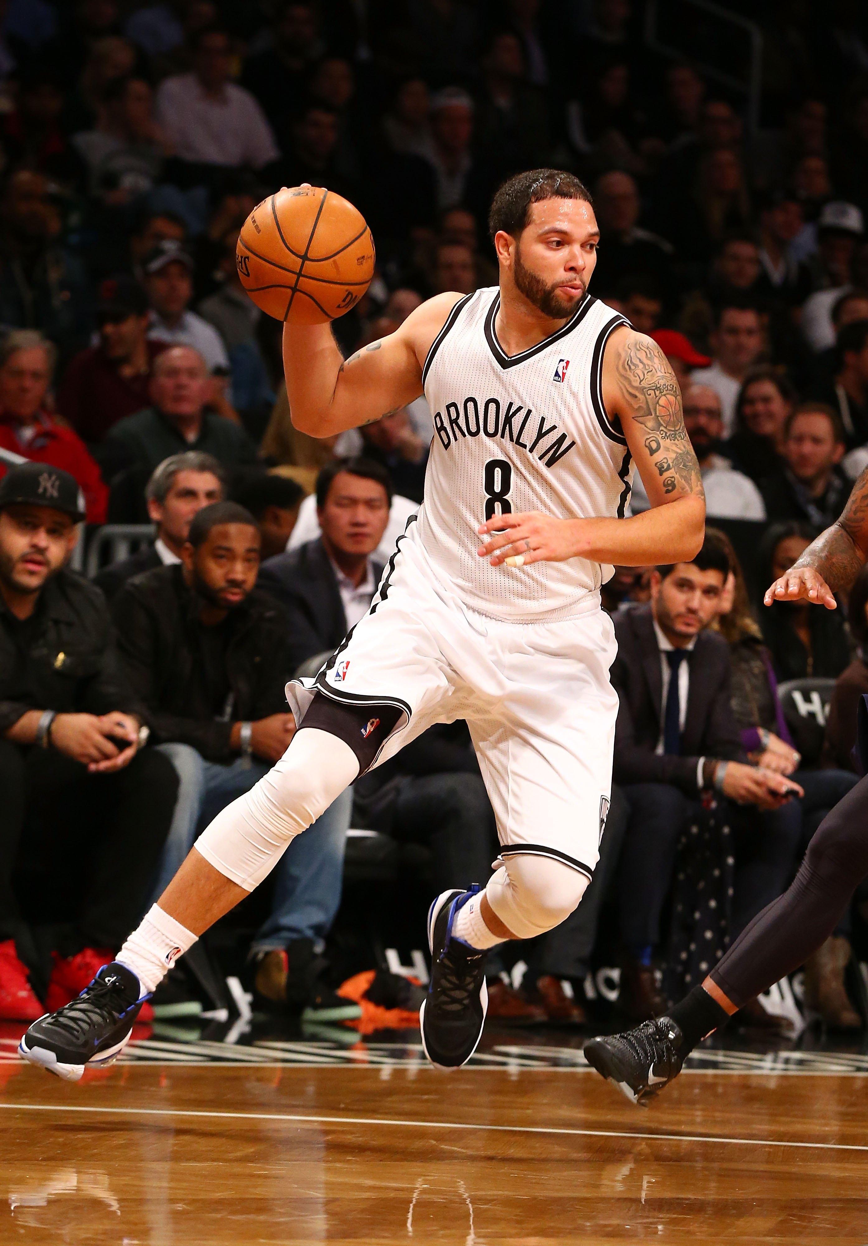 Deron Williams - Utah Jazz v Brooklyn Nets