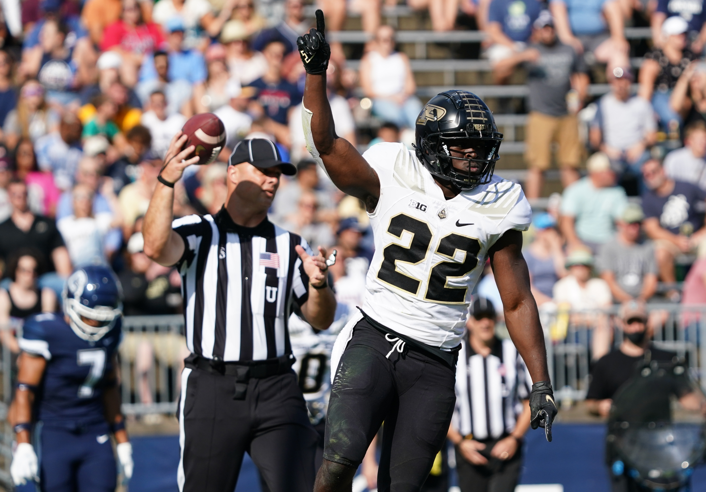 NCAA Football: Purdue at Connecticut