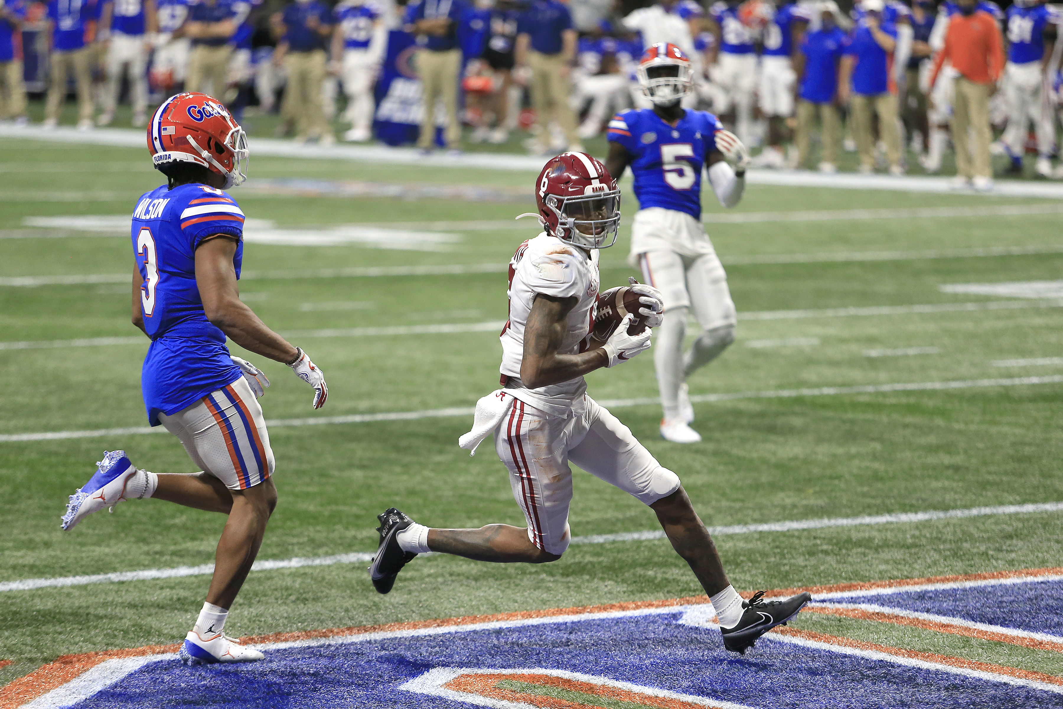 COLLEGE FOOTBALL: DEC 19 SEC Championship Game - Alabama v Florida