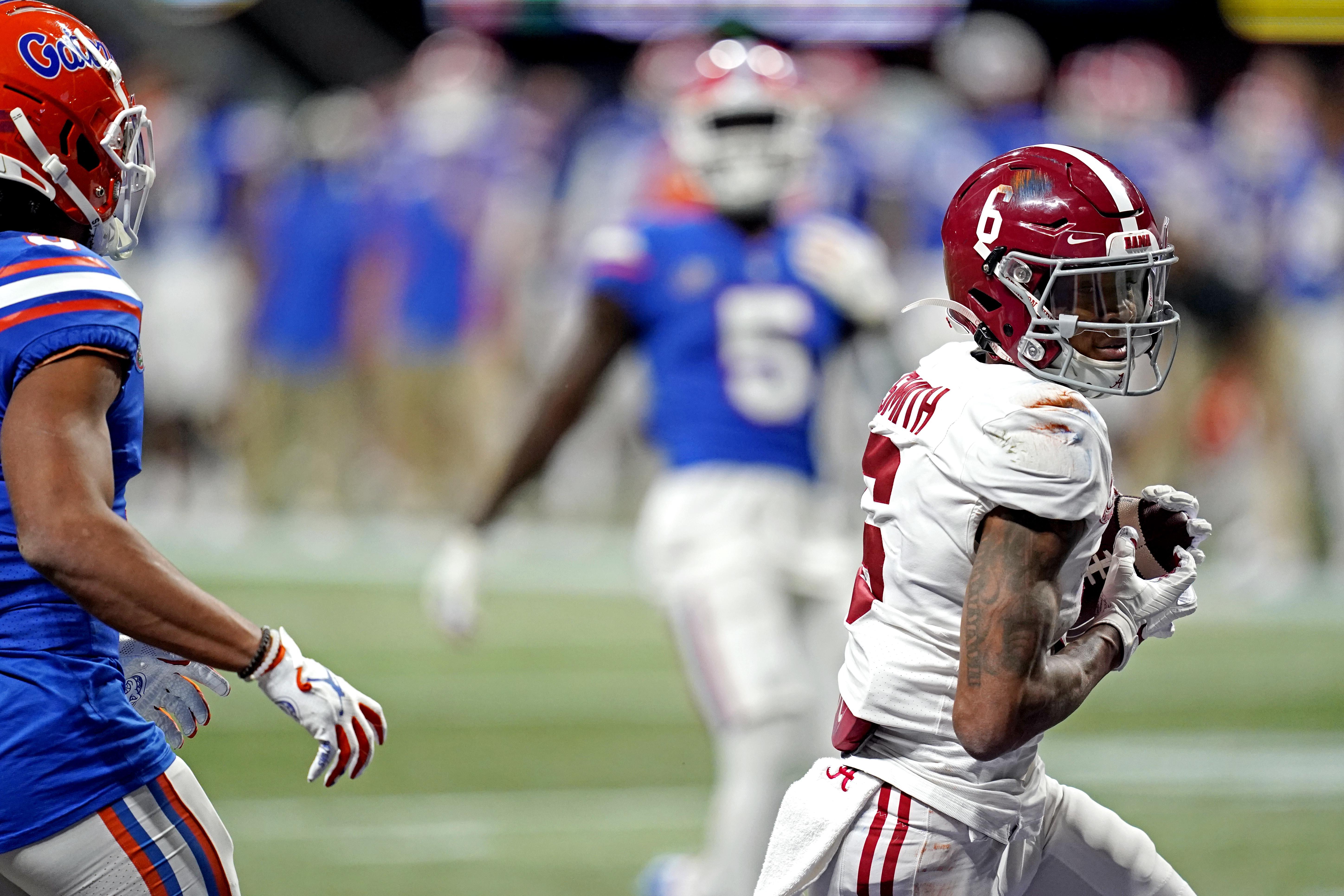 NCAA Football: SEC Championship-Alabama at Florida