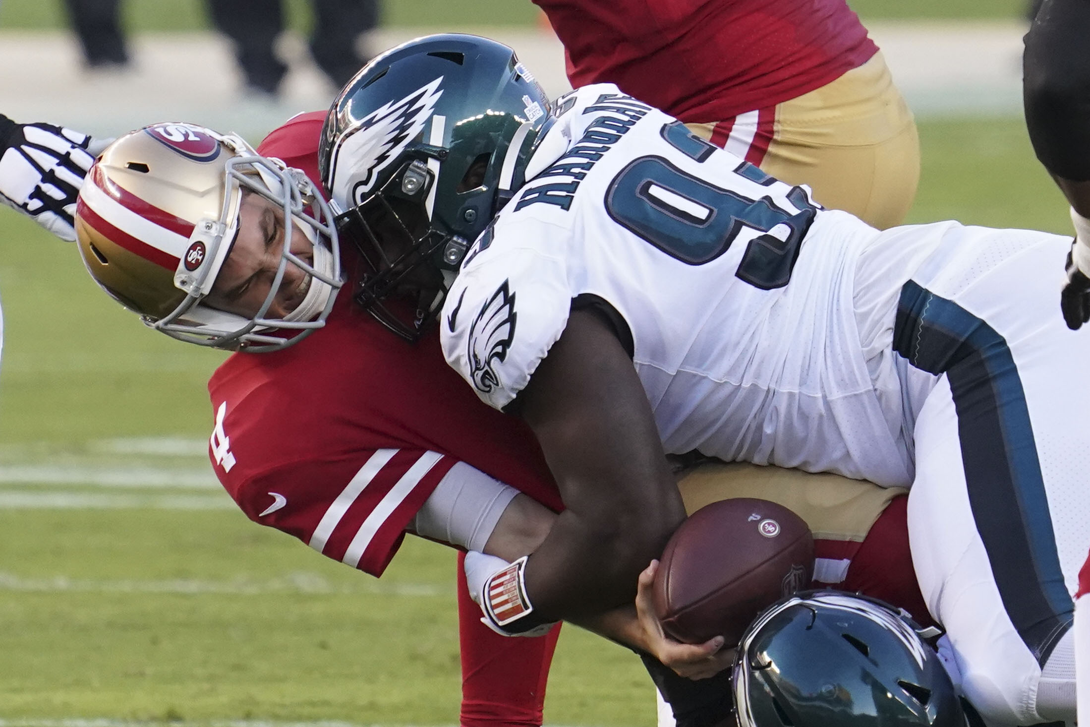 NFL: Philadelphia Eagles at San Francisco 49ers