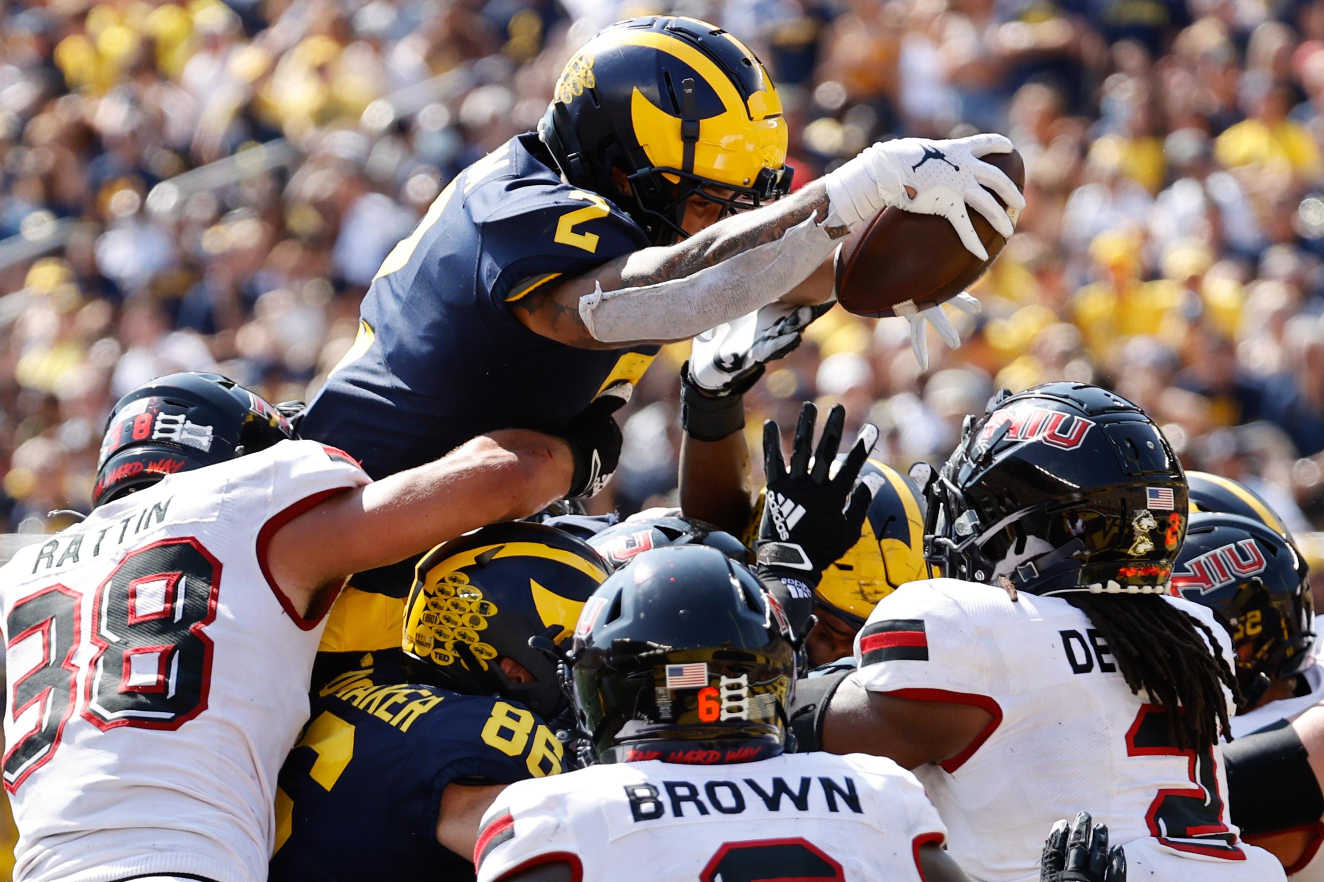NCAA Football: Northern Illinois at Michigan