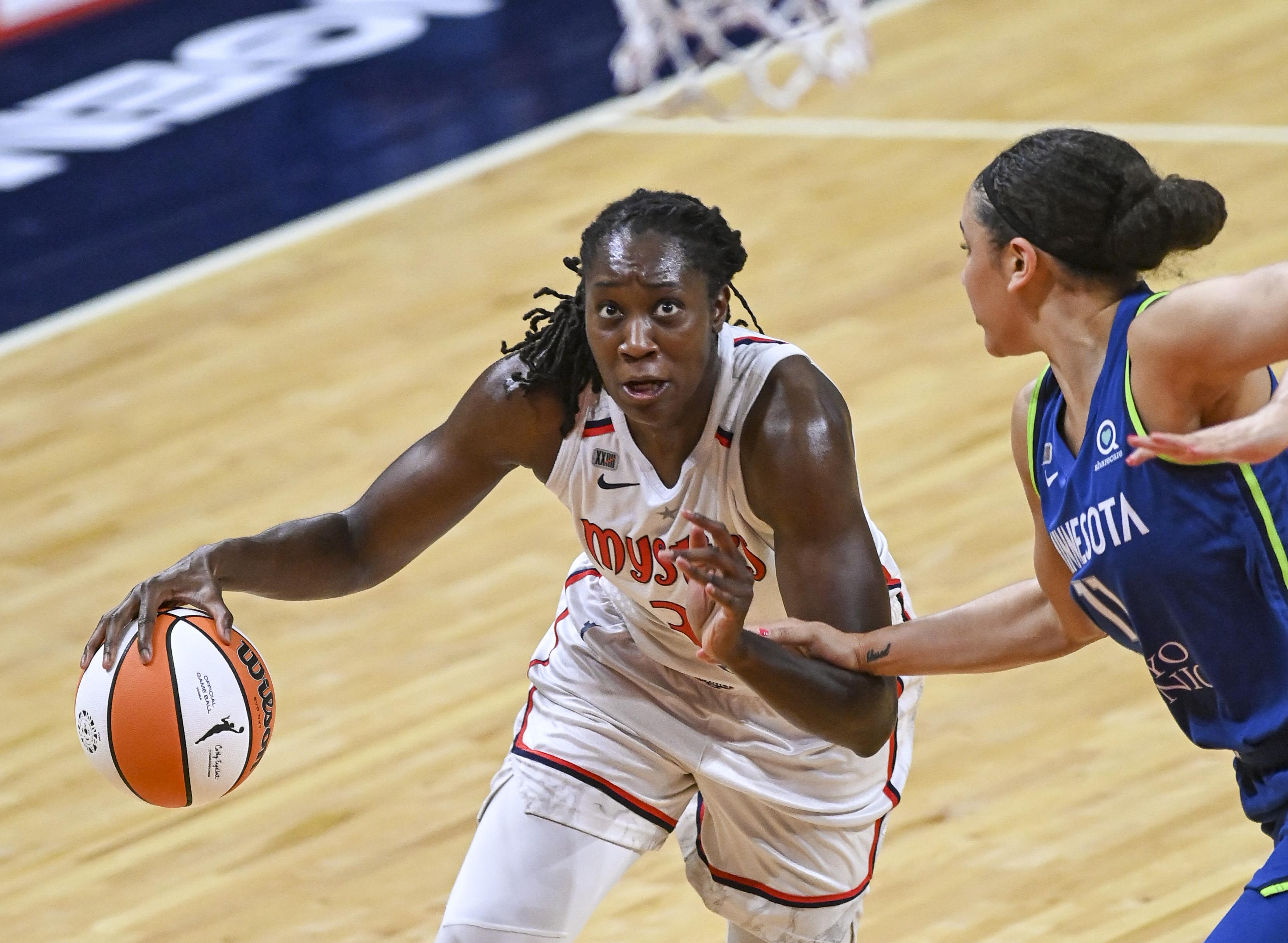 WNBA-Minnesota Lynx at Washington Mystics