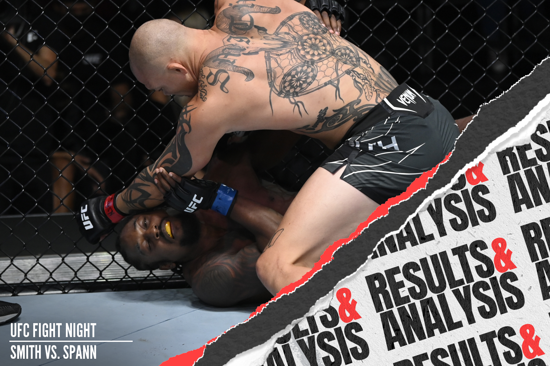 Anthony Smith submitted Ryan Spann in the uFC Vegas 37 main event.