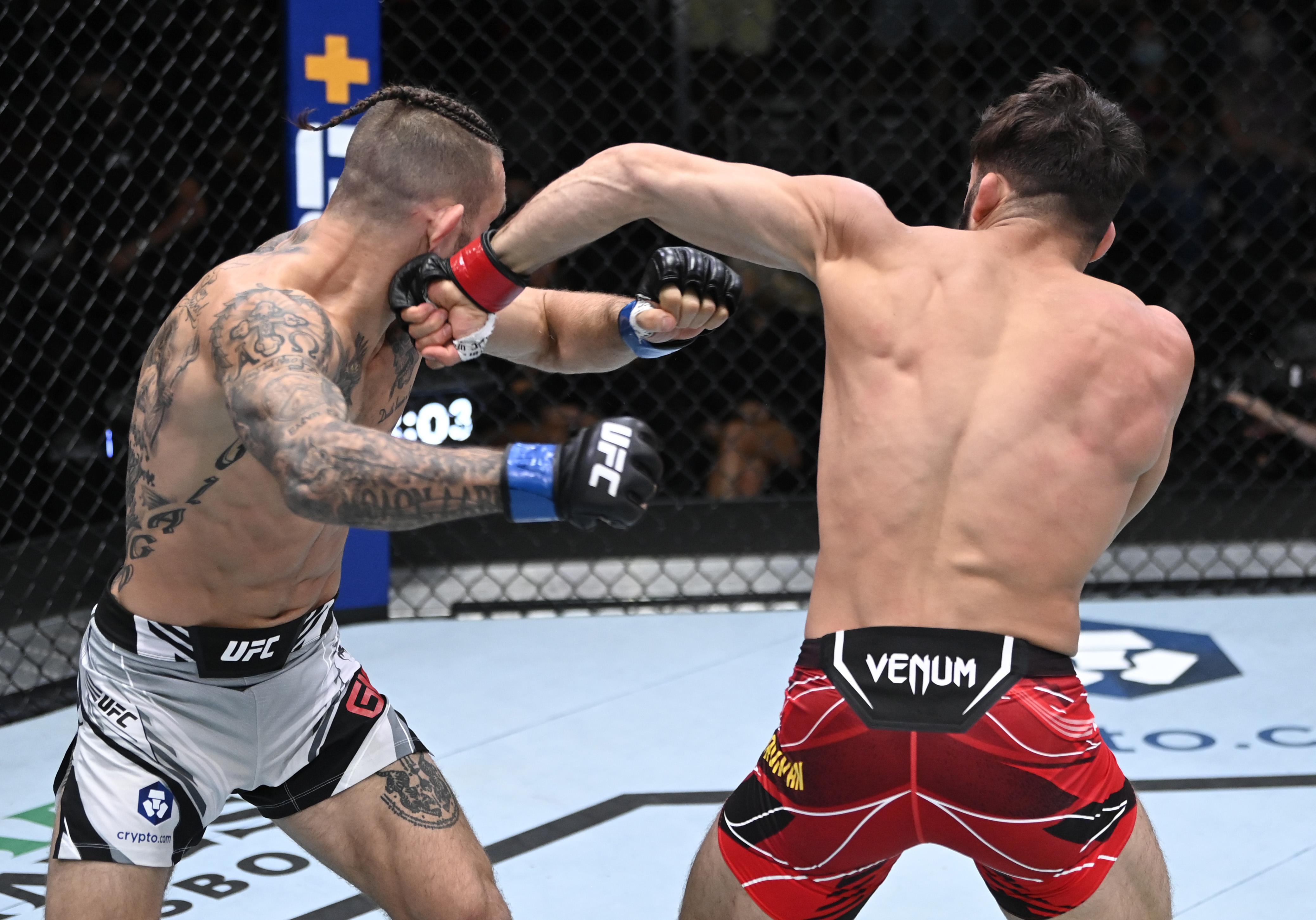 UFC Fight Night: Tsarukyan v Giagos