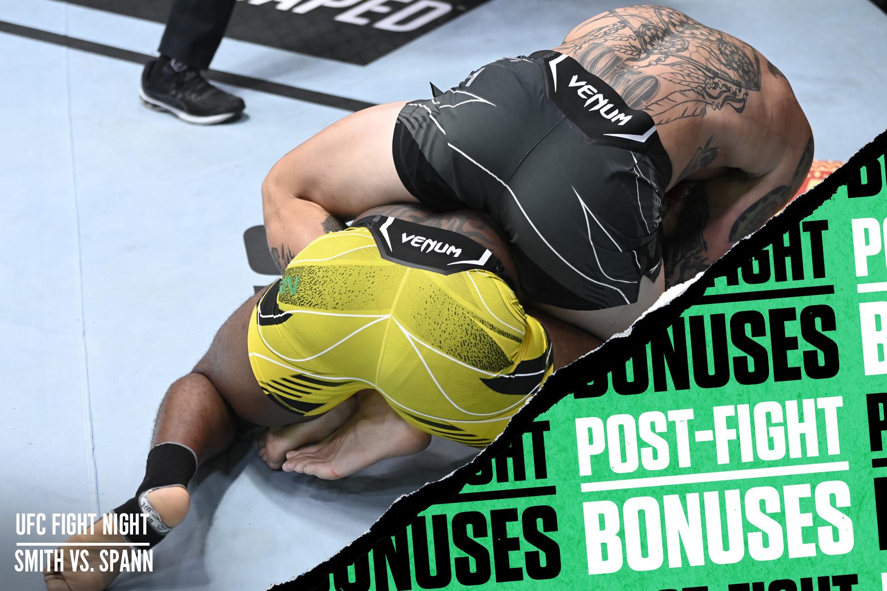 Four main card fighters won an extra $50K at UFC Vegas 37.