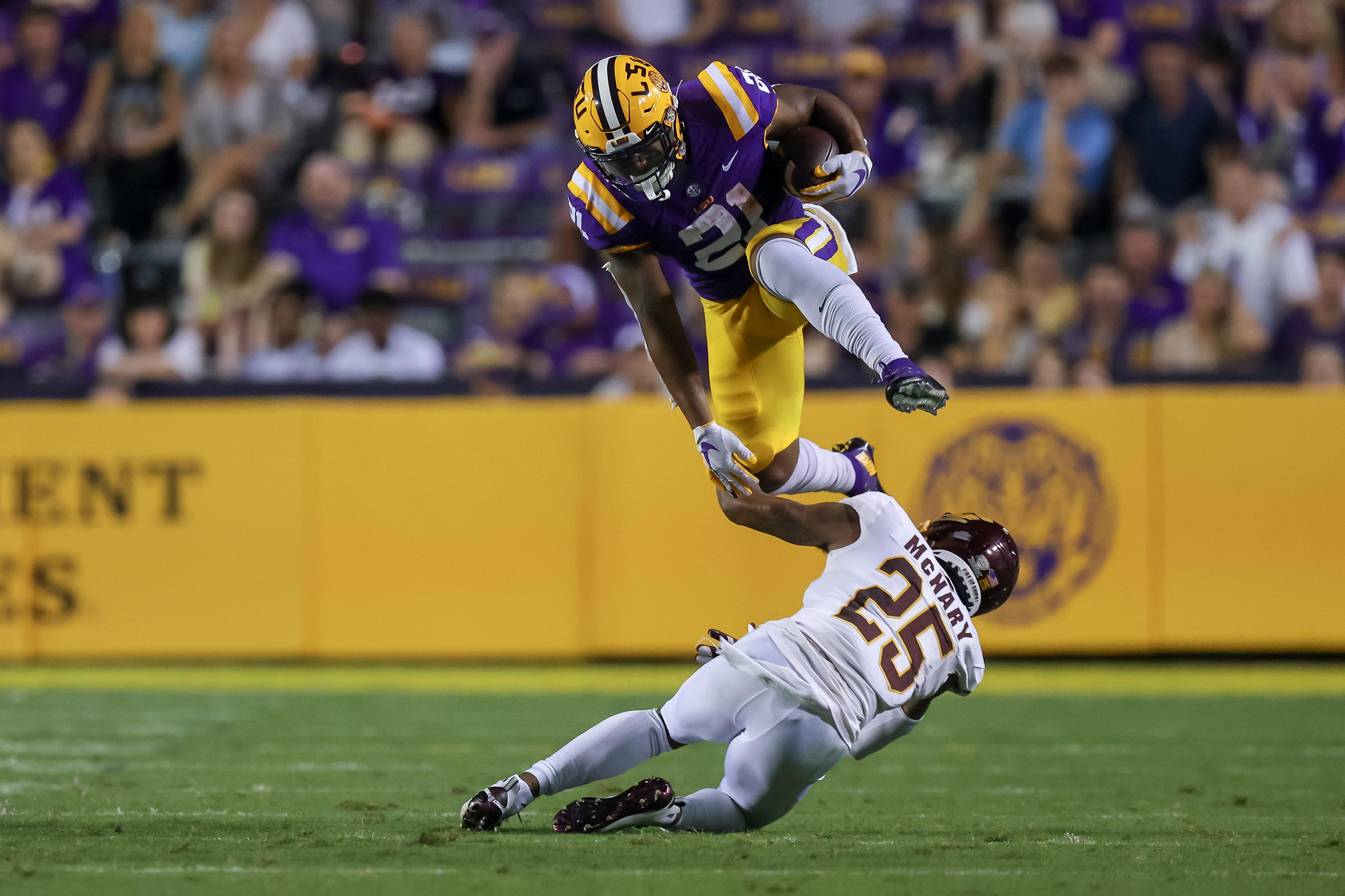 NCAA Football: Central Michigan at Louisiana State