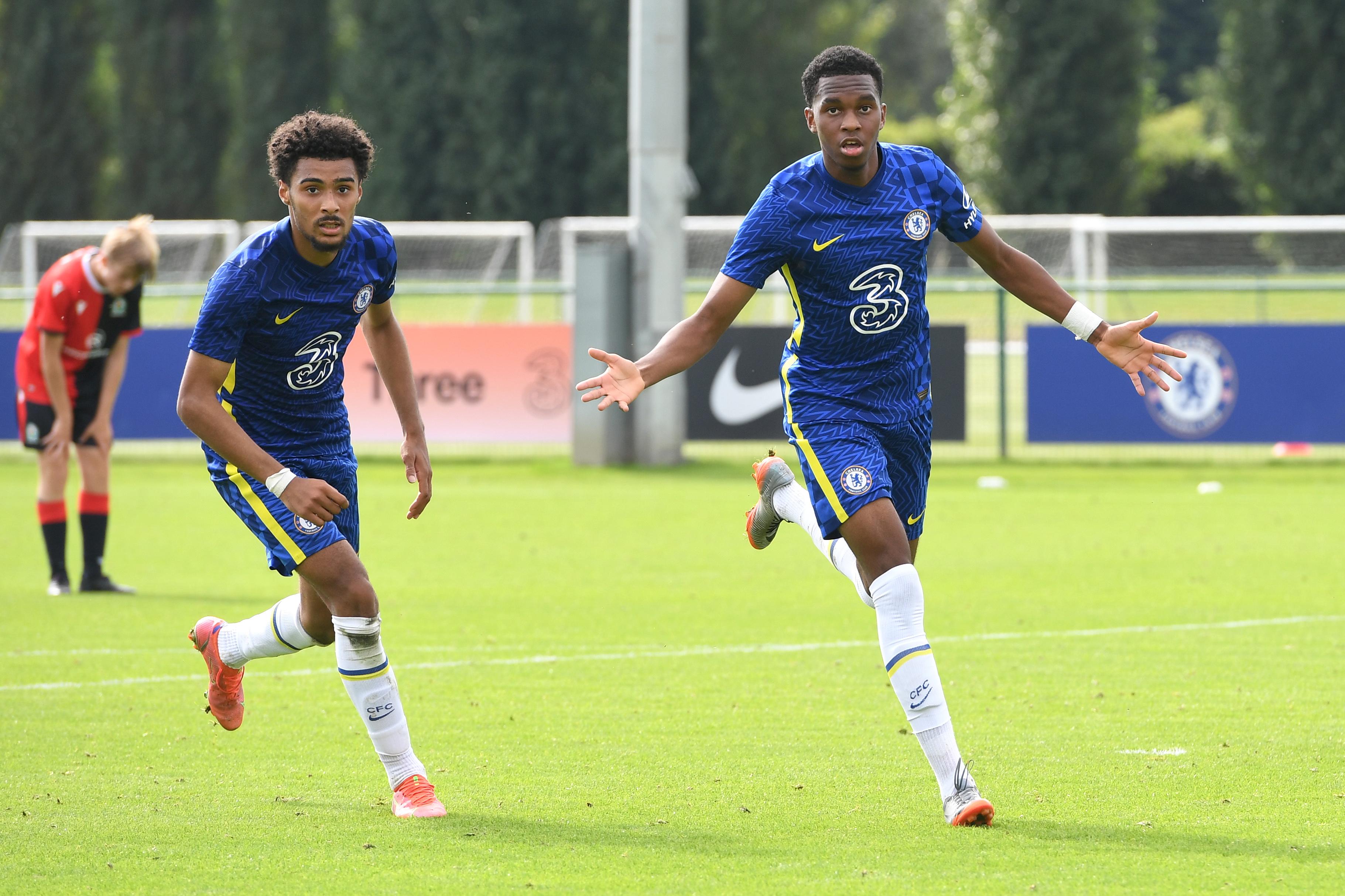 Chelsea v Blackburn Rovers - U18 Premier League Cup Group D