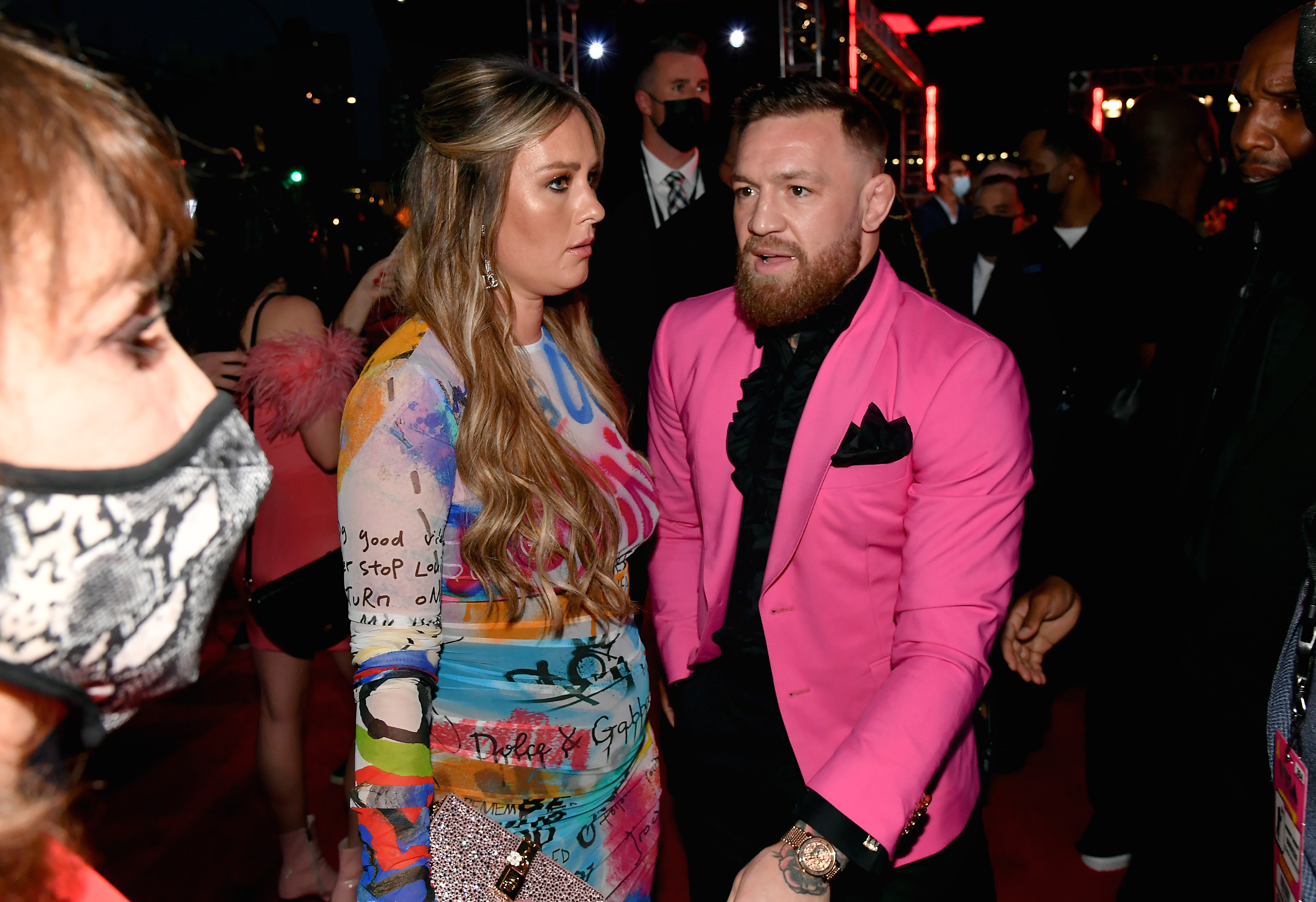 Conor McGregor had a scuffle at the 2021 MTV Video Music Awards