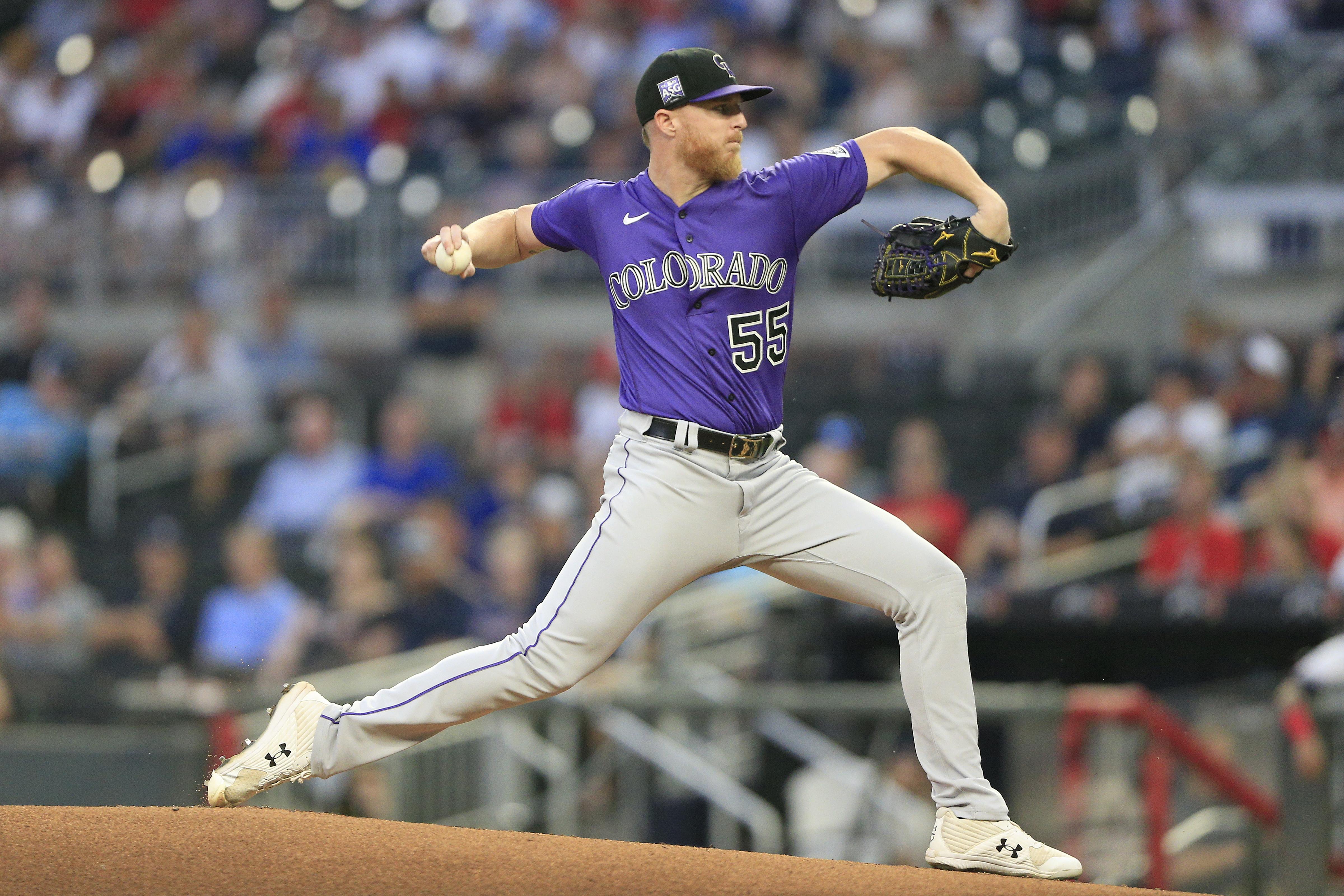 MLB: SEP 14 Rockies at Braves