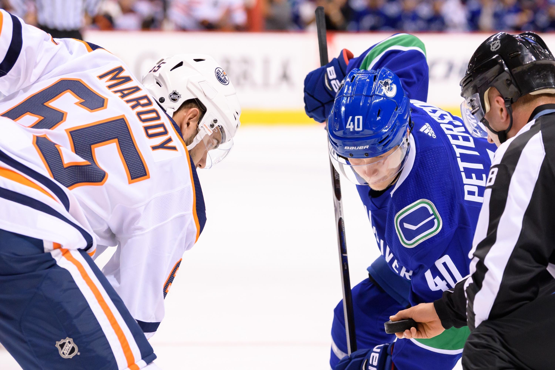 NHL: SEP 18 Preseason - Oilers at Canucks