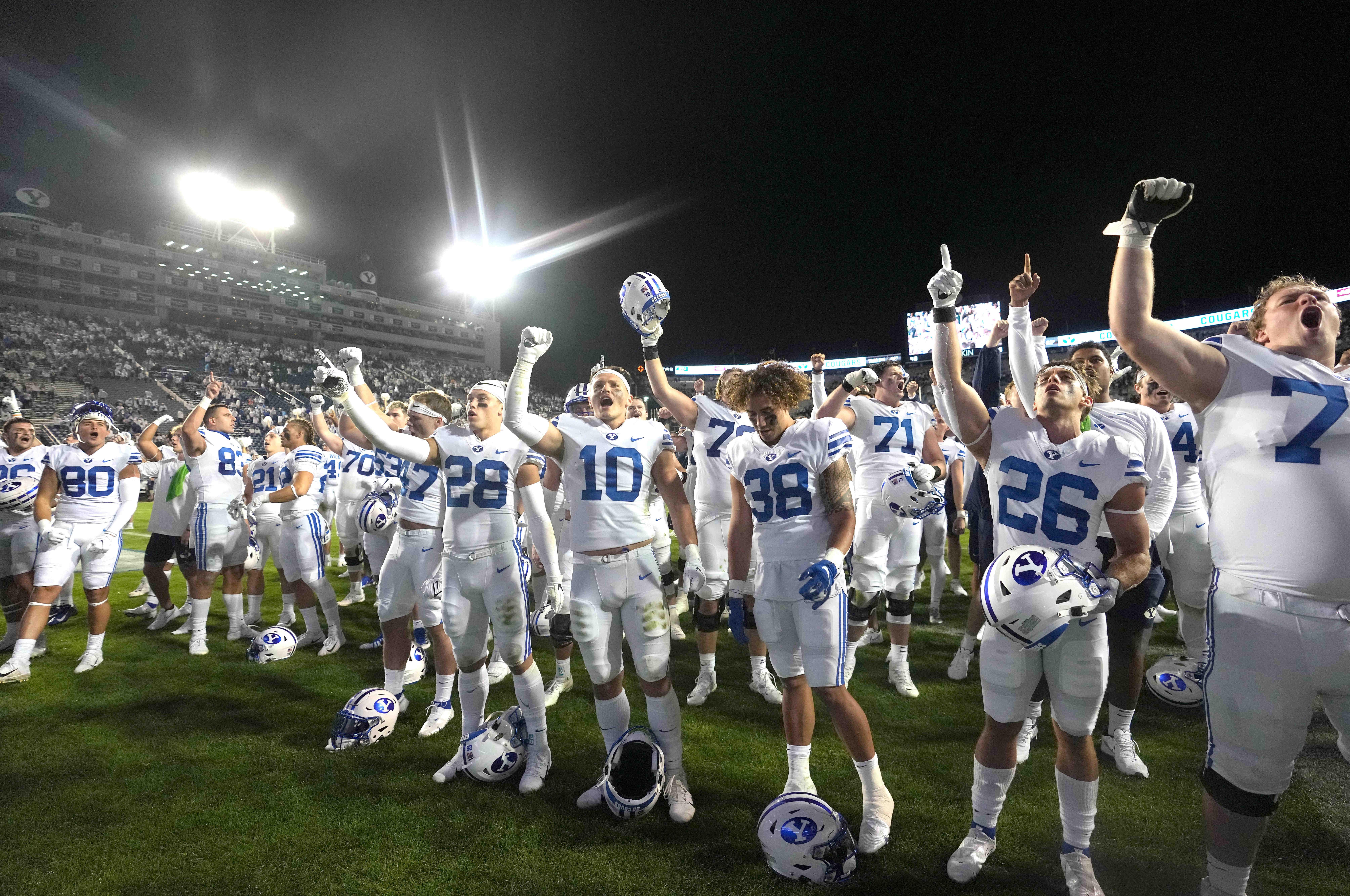NCAA Football: Arizona State at Brigham Young