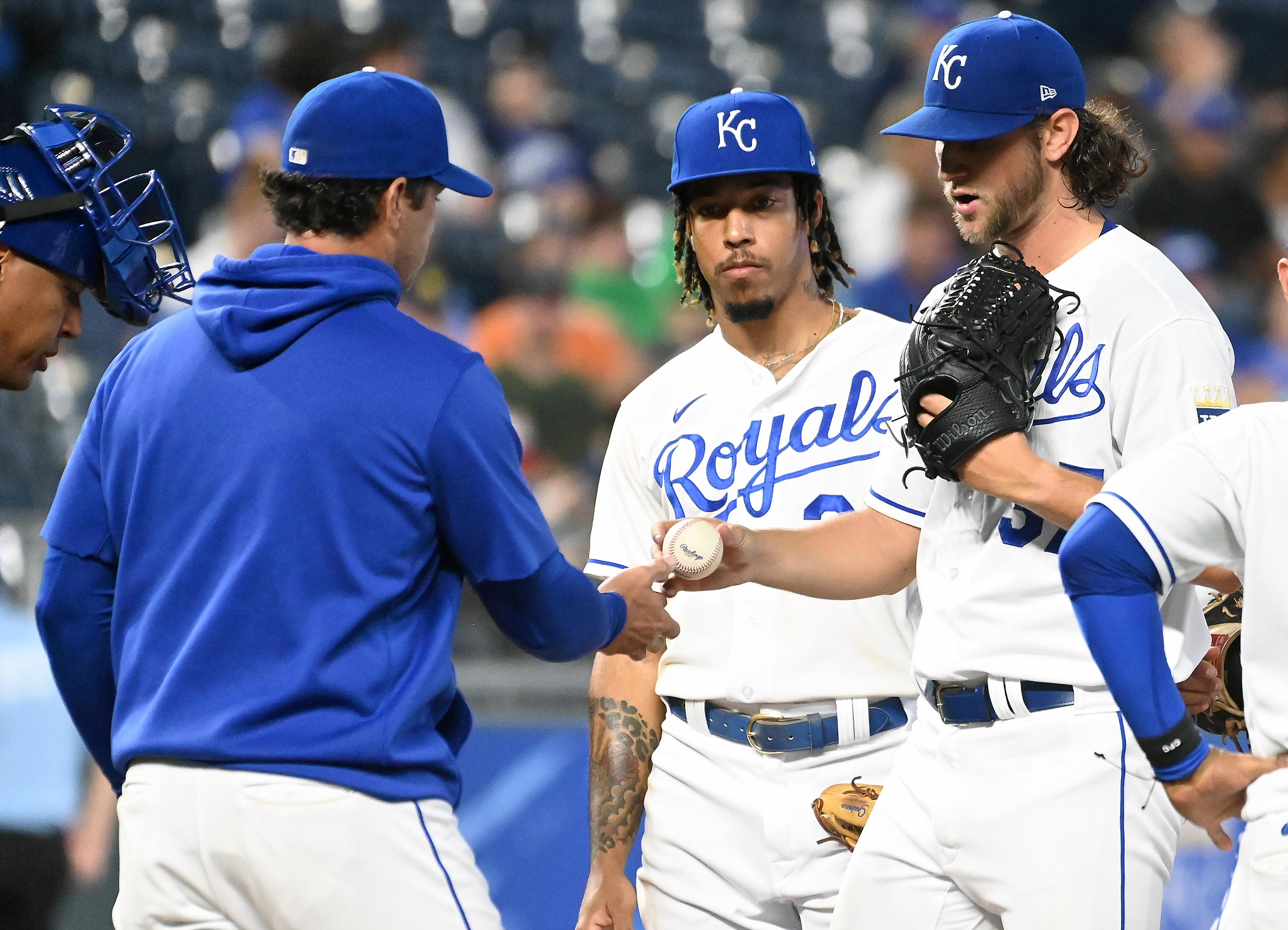 MLB: SEP 14 Athletics at Royals