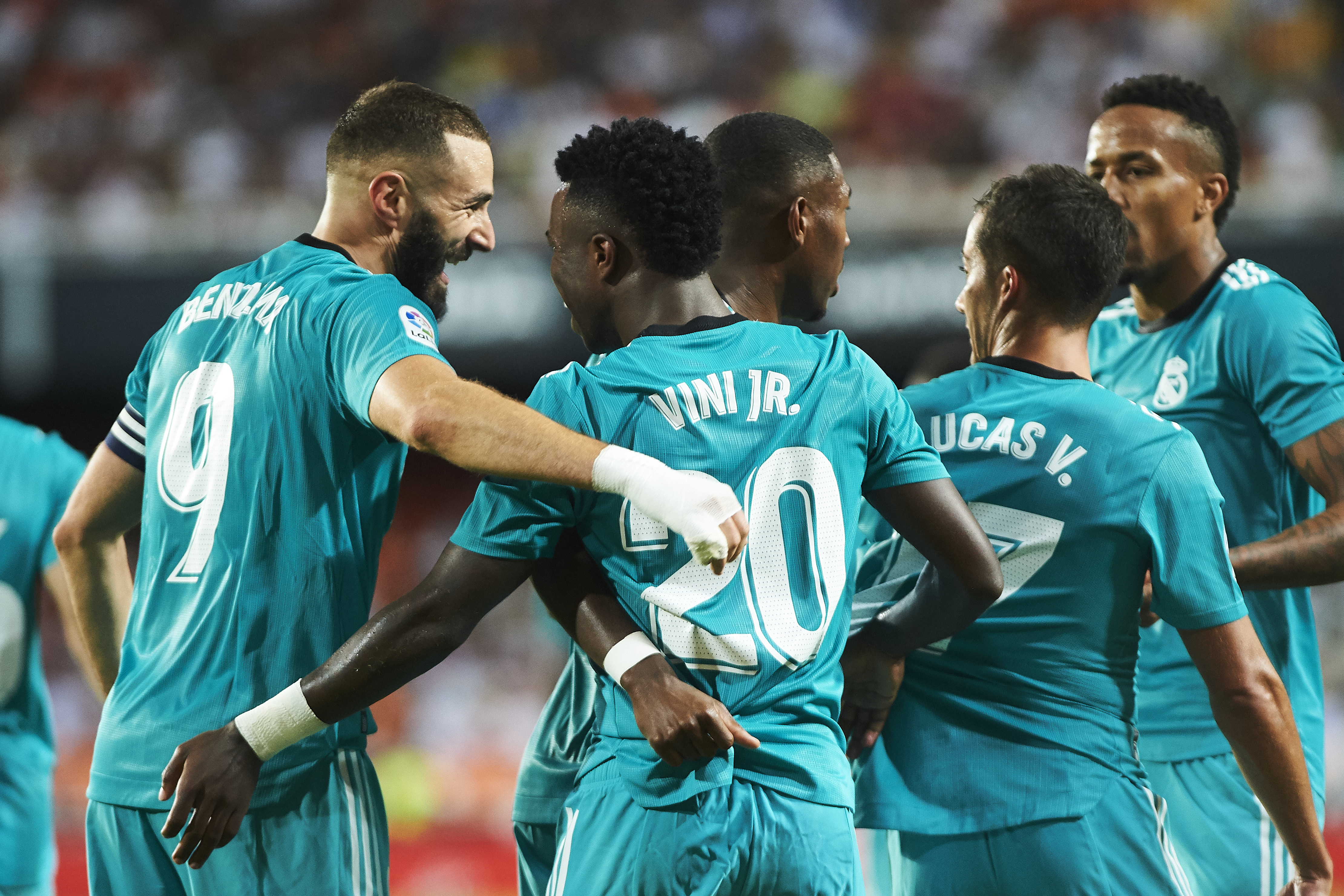 Valencia CF v Real Madrid CF - LaLiga Santander
