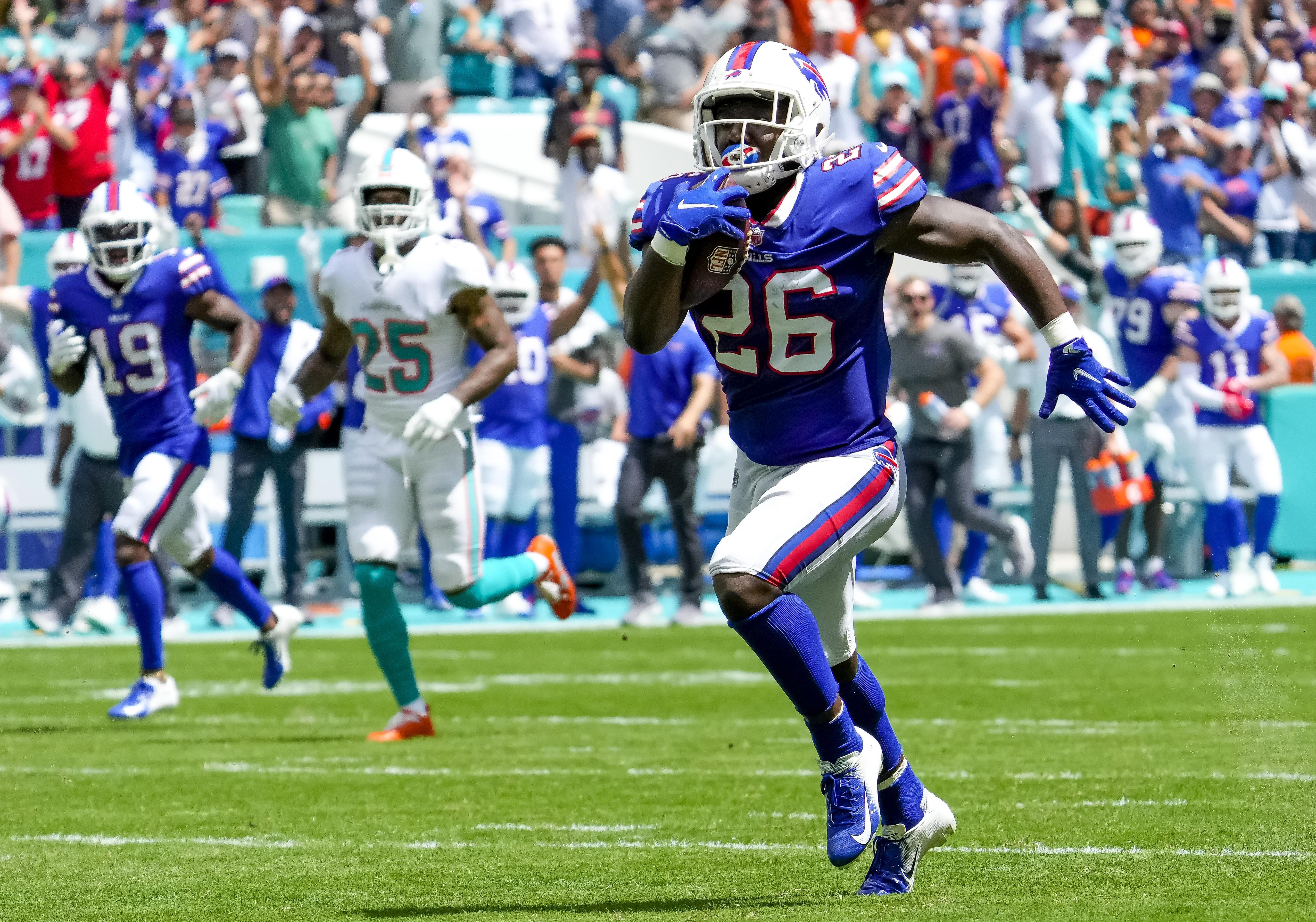 NFL: SEP 19 Bills at Dolphins