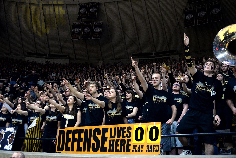 COLLEGE BASKETBALL: FEB 18 Michigan State at Purdue