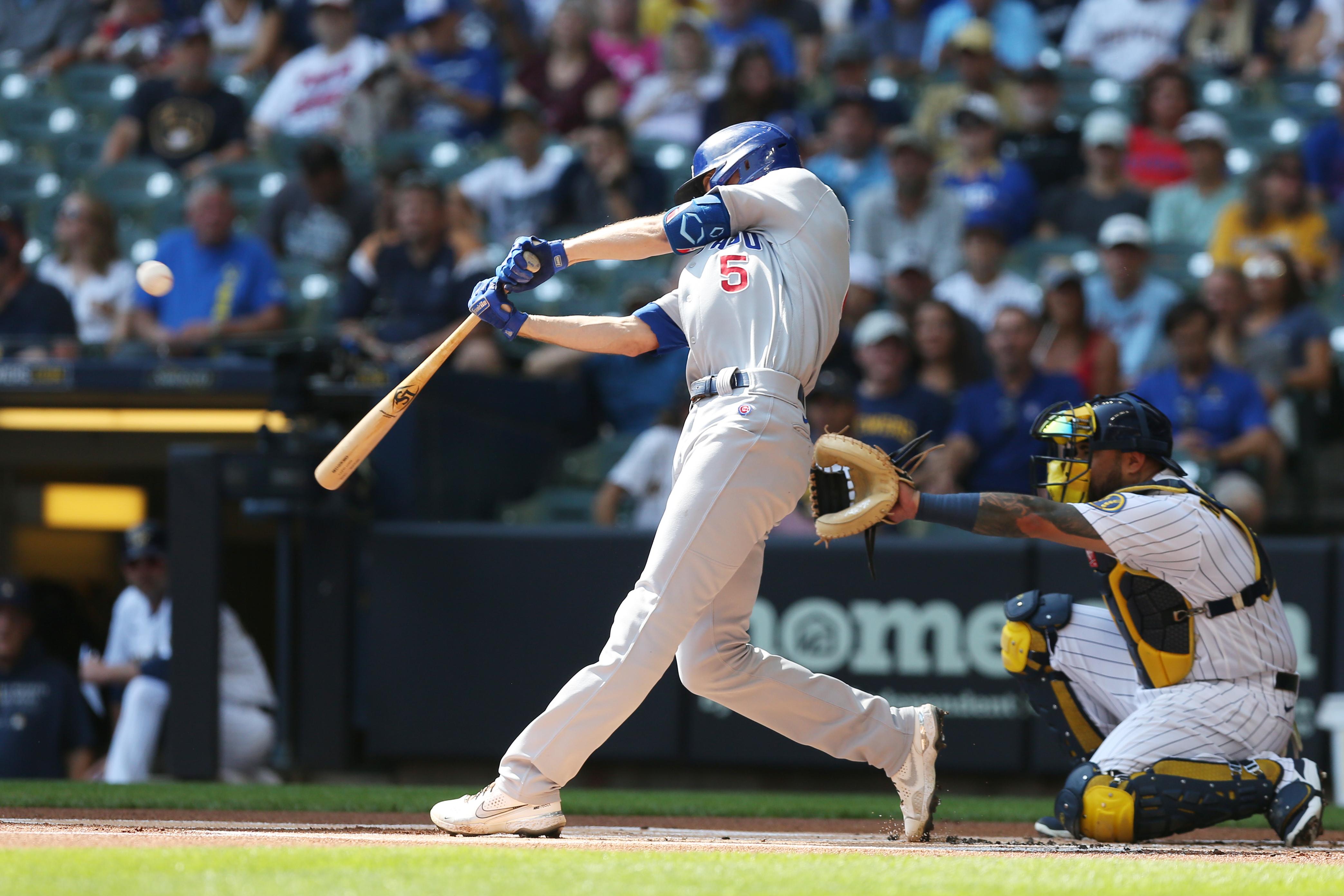 MLB: SEP 19 Cubs at Brewers