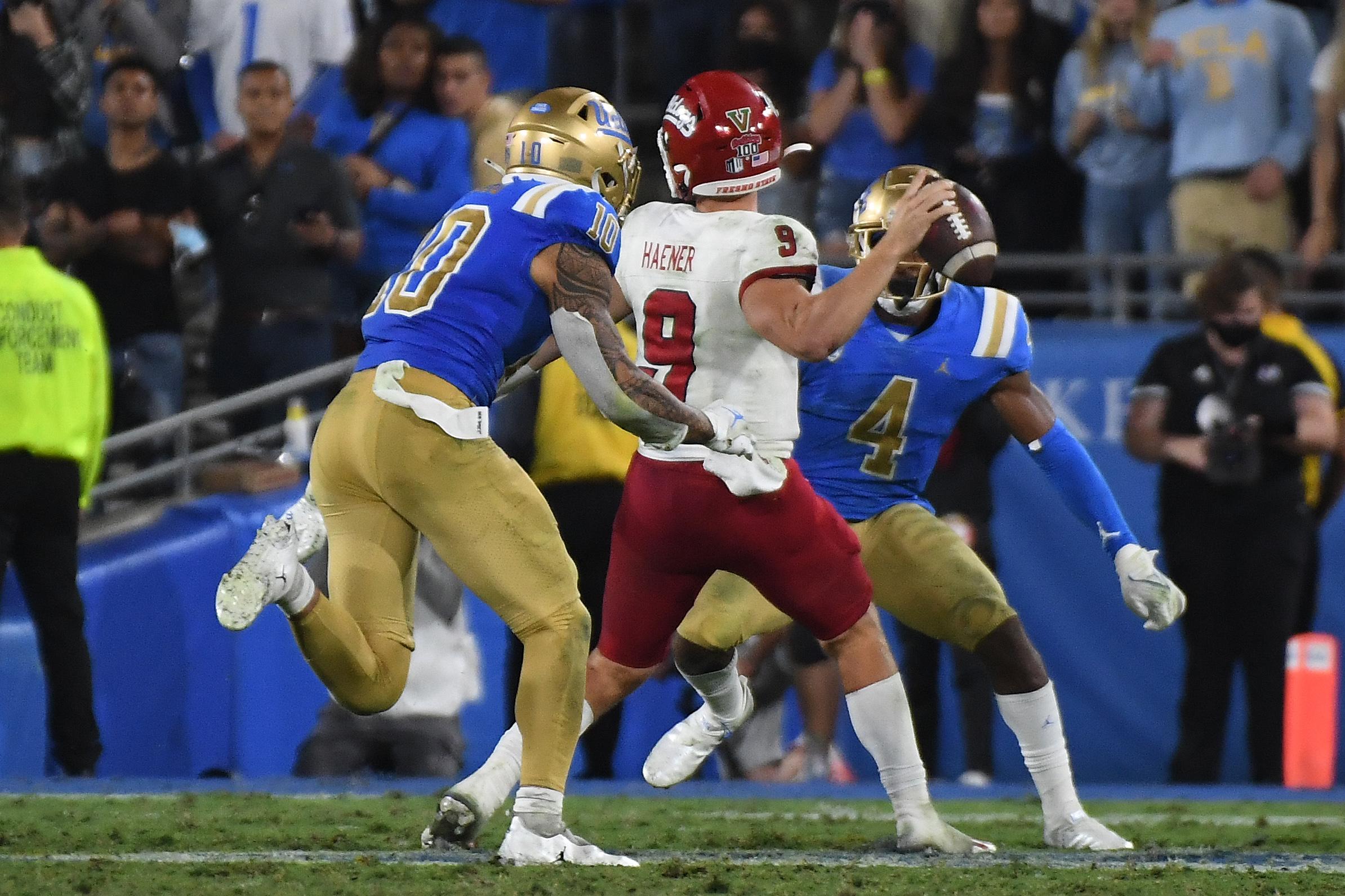 NCAA Football: Fresno State at UCLA