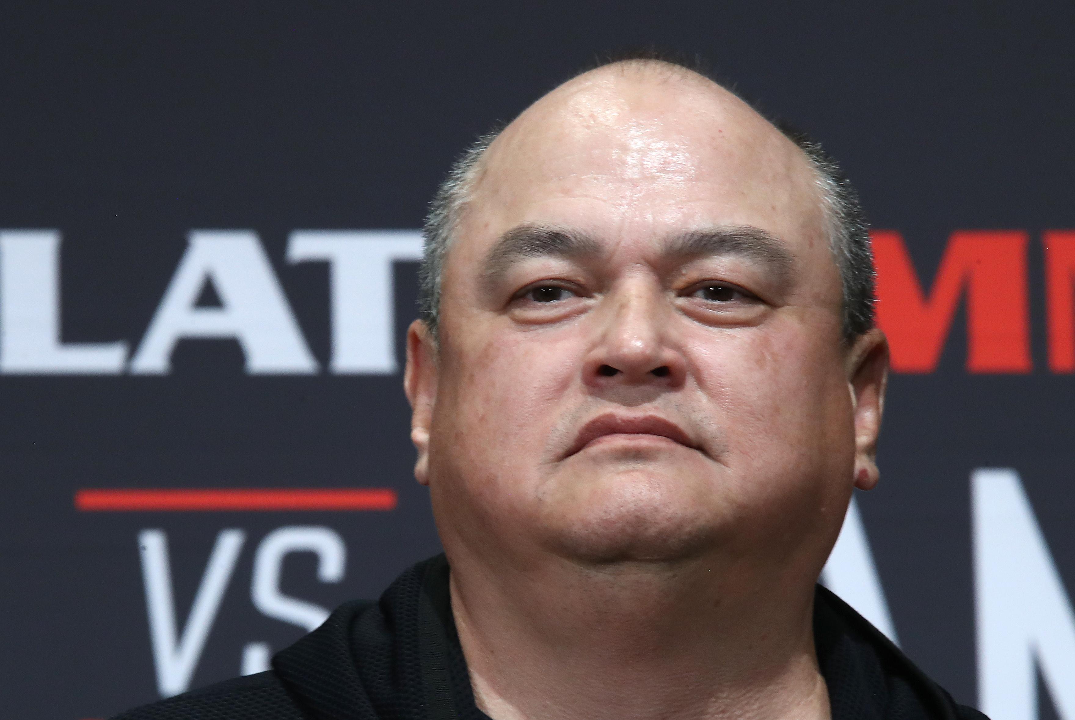 MMA fighters Emelianenko and Jackson weigh in ahead of Bellator 237 main event in Japan
