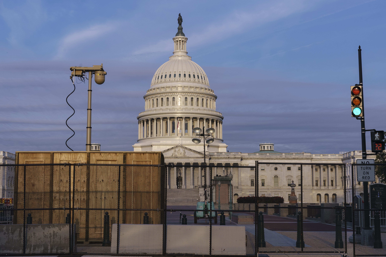 Fences US Capitol