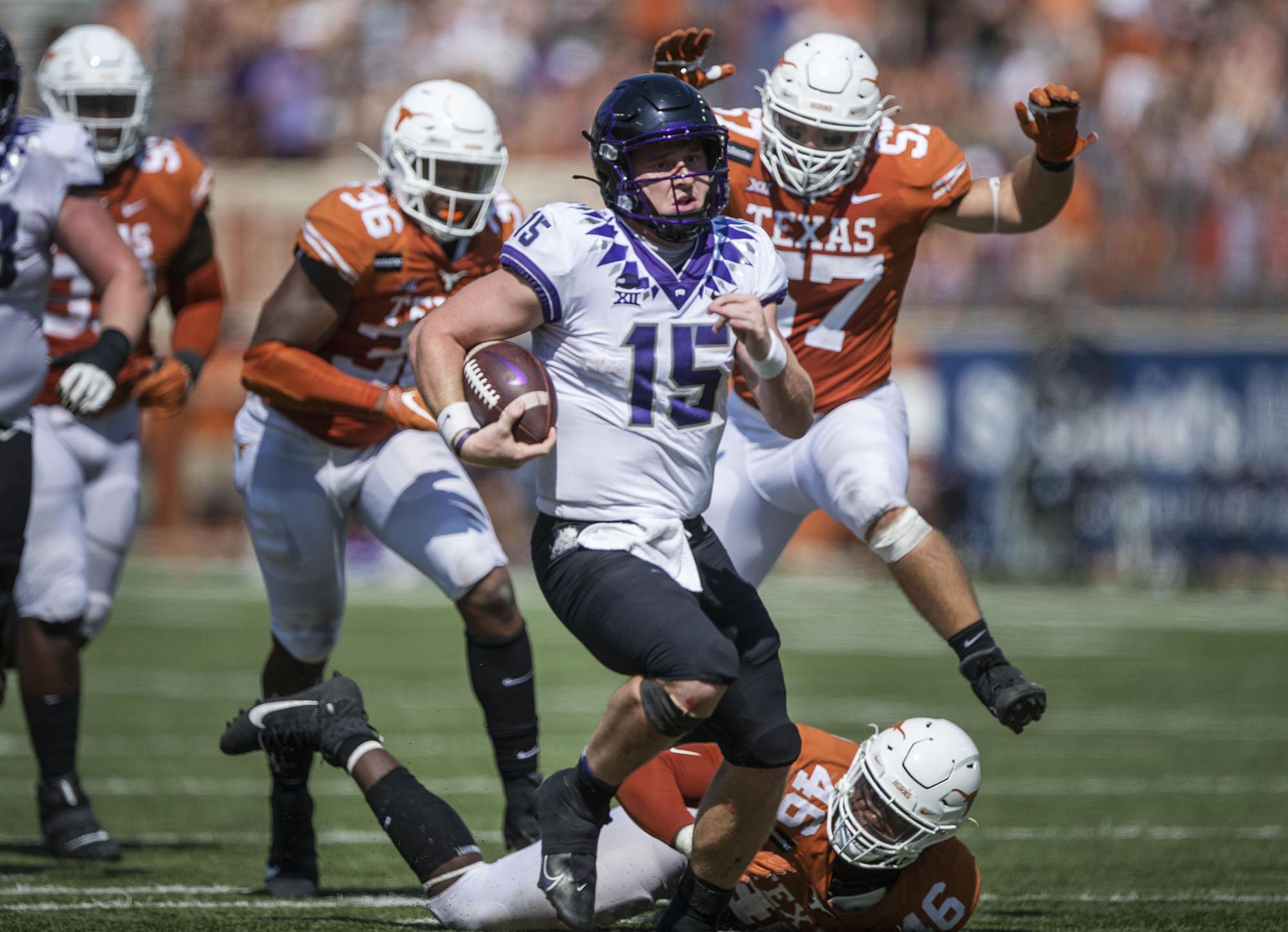 NCAA Football: Texas Christian at Texas