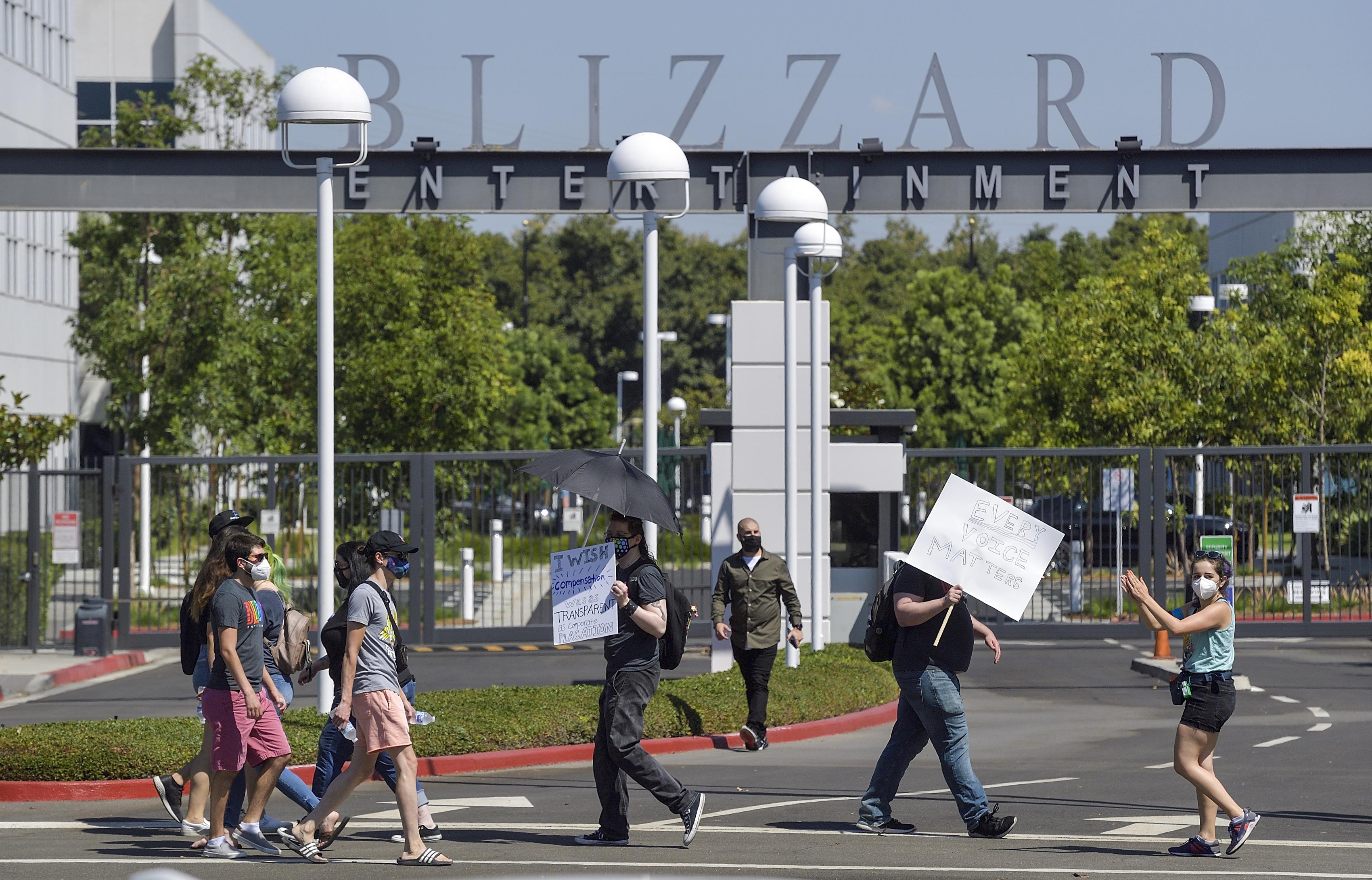 Blizzard Entertainment Employee Walkout