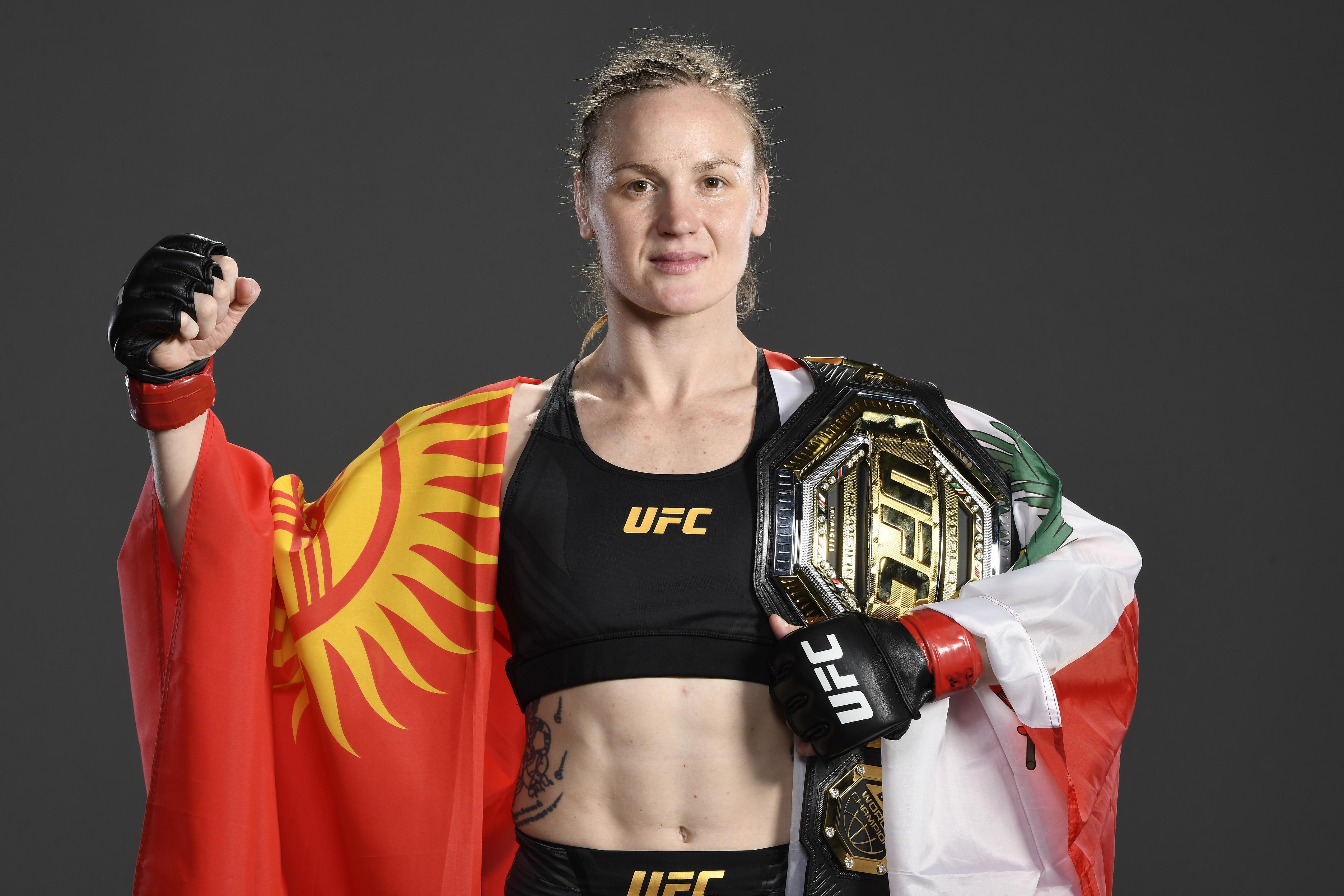 UFC 261: Valentina Shevchenko after beating Jessica Andrade, who fights Cynthia Calvillo at UFC 266 mma news
