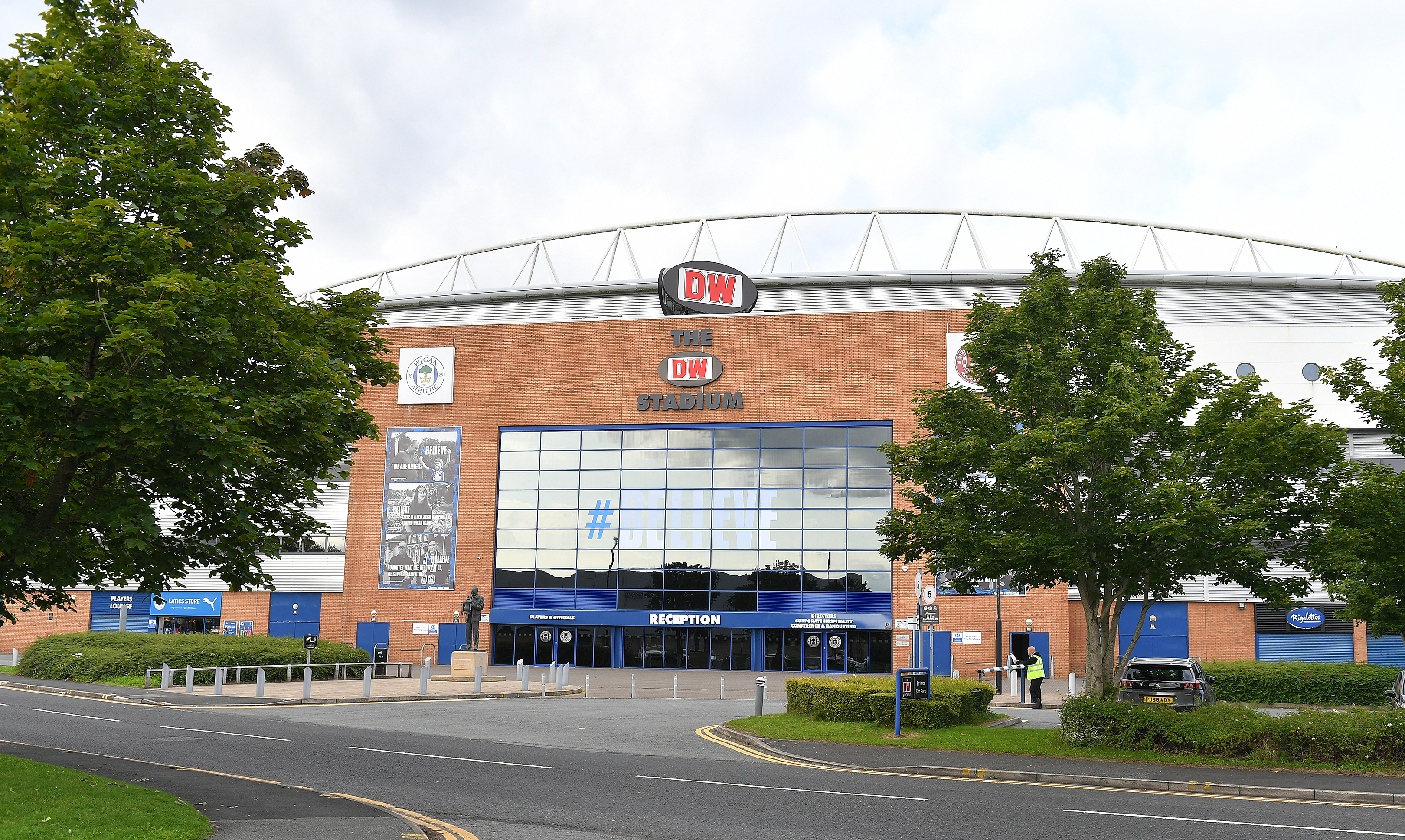 Wigan Athletic v Bolton Wanderers - Carabao Cup Second Round