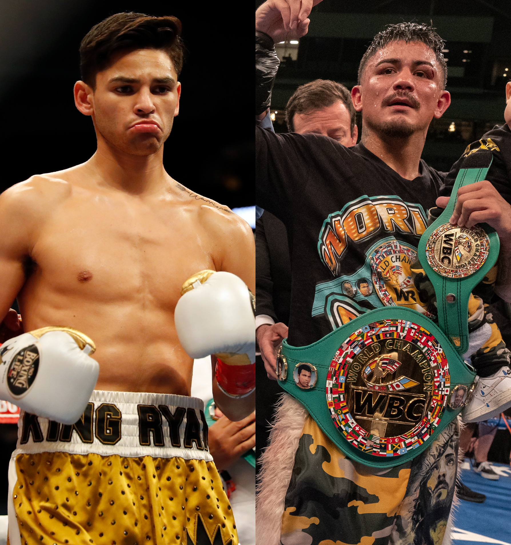Ryan Garcia and Joseph Diaz Jr have received an order to face one another from the WBC