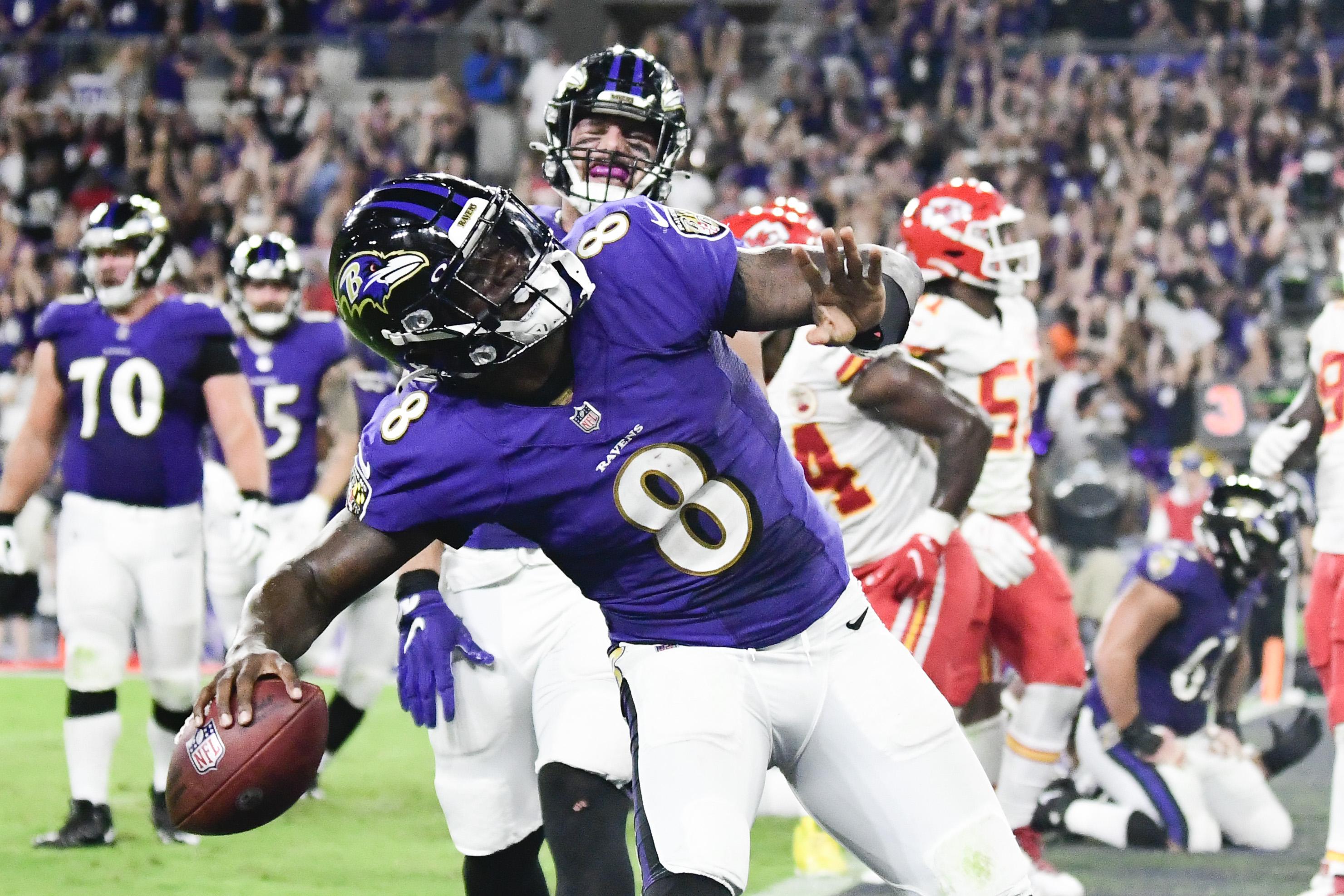 NFL: Kansas City Chiefs at Baltimore Ravens