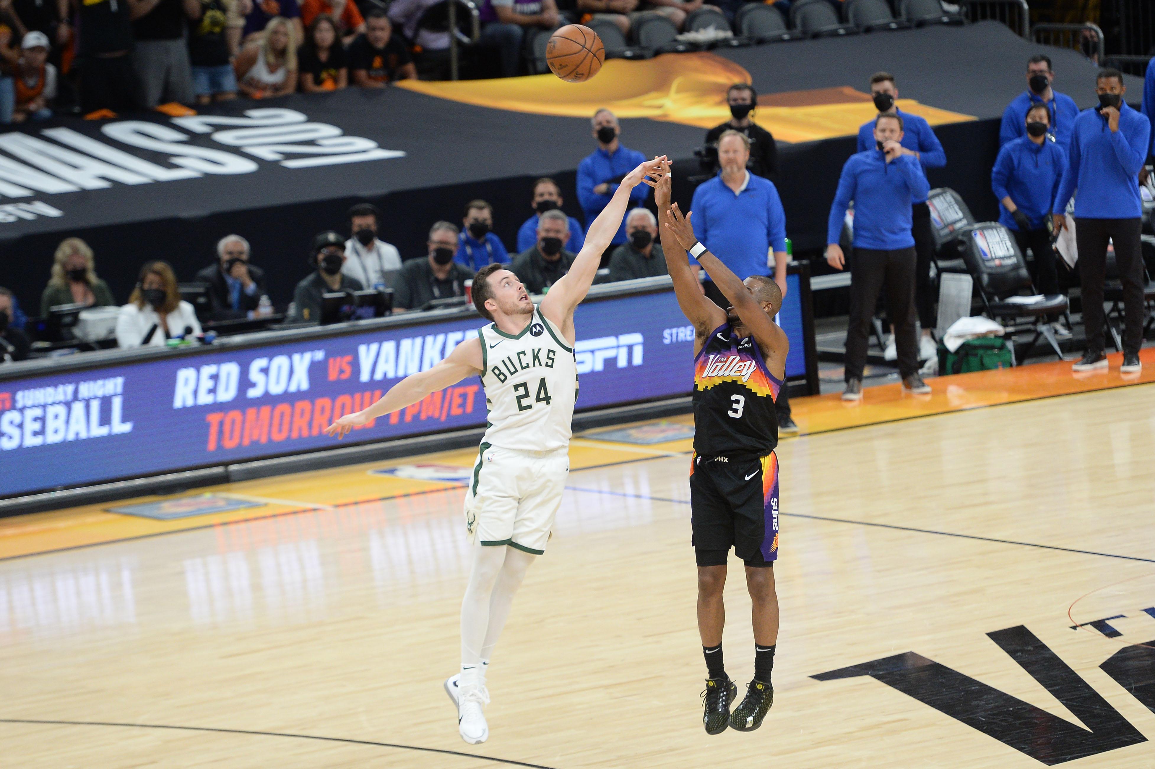 NBA: Finals-Milwaukee Bucks at Phoenix Suns