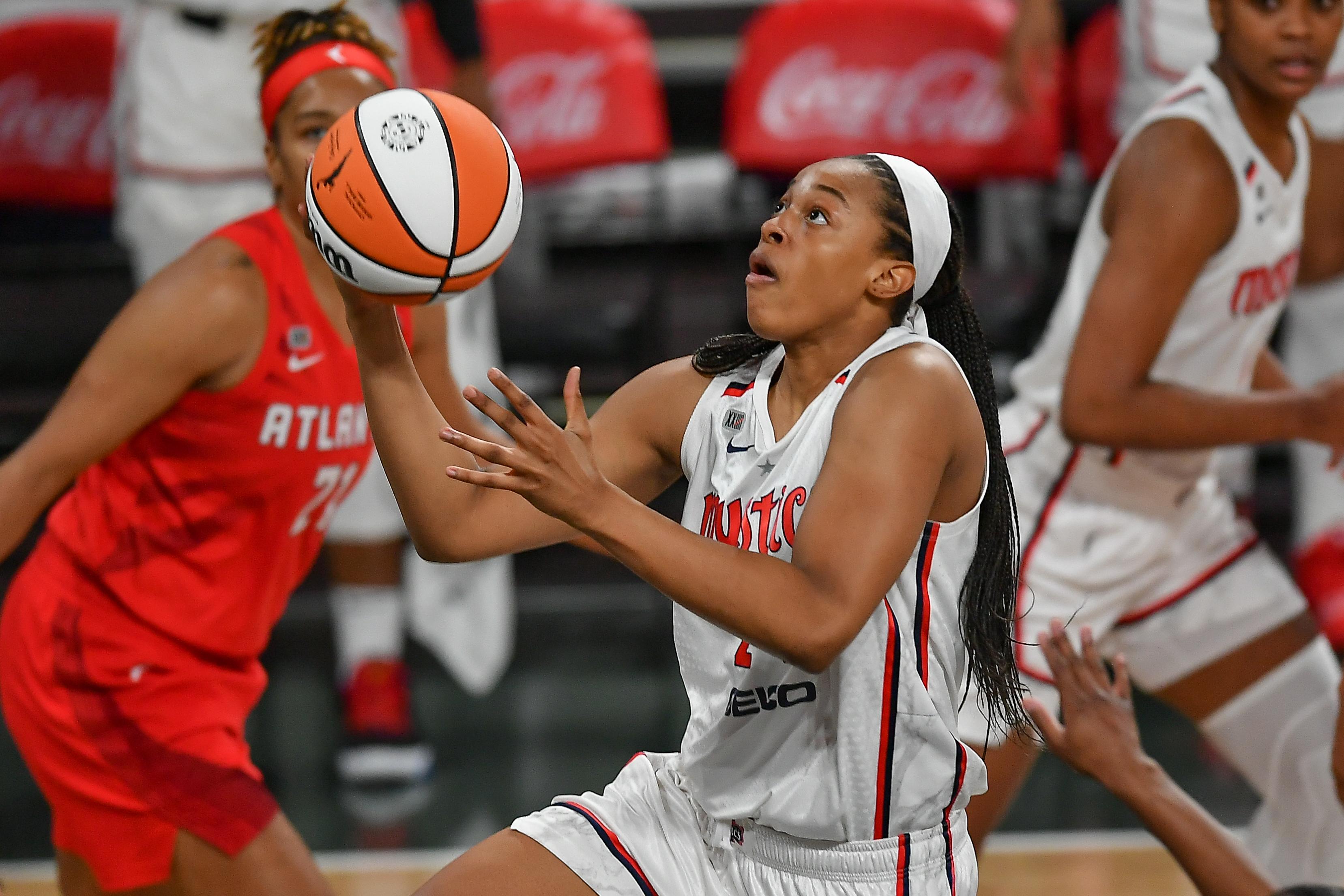 WNBA: JUN 13 Washington Mystics at Atlanta Dream