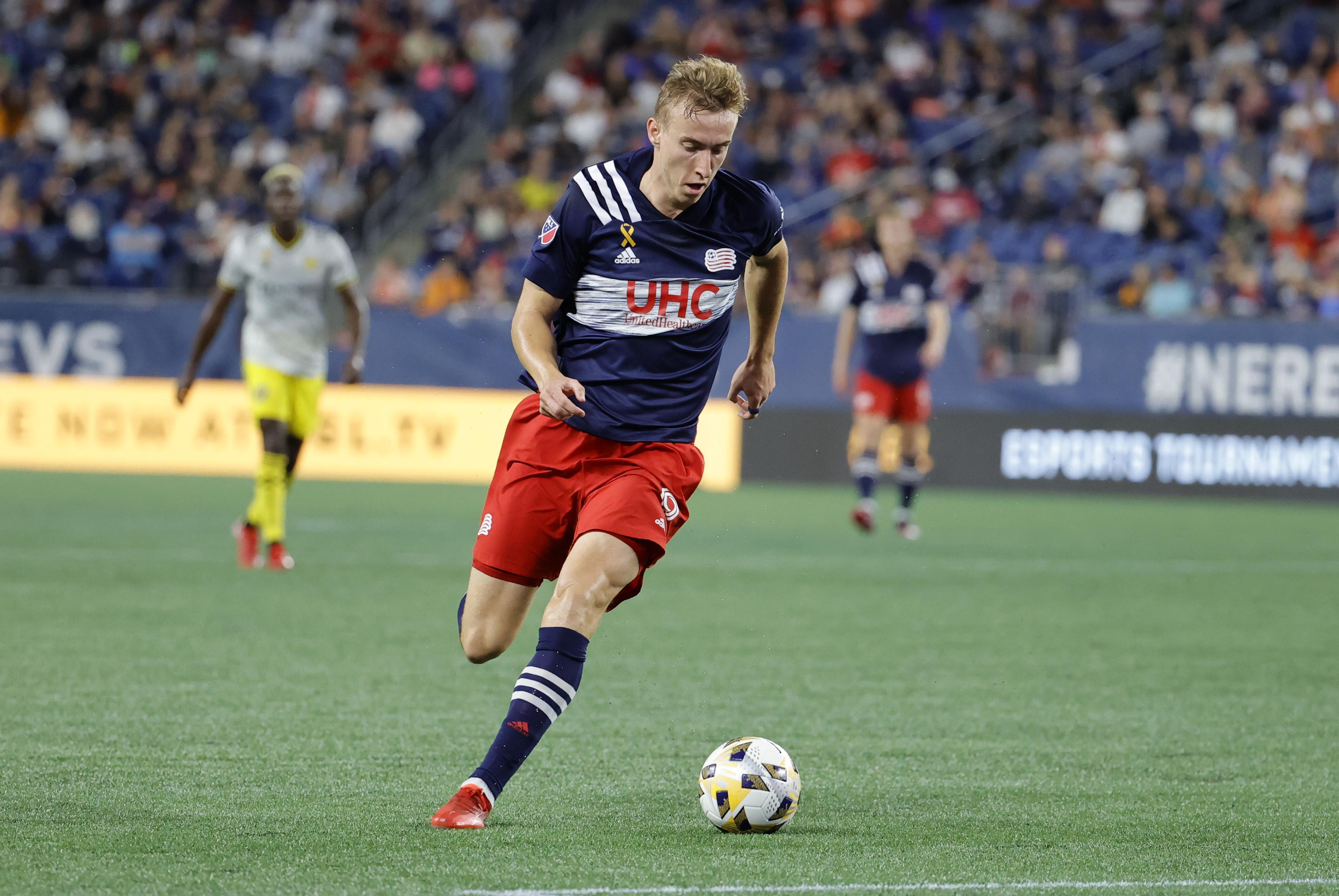 SOCCER: SEP 18 MLS - Columbus Crew SC at New England Revolution