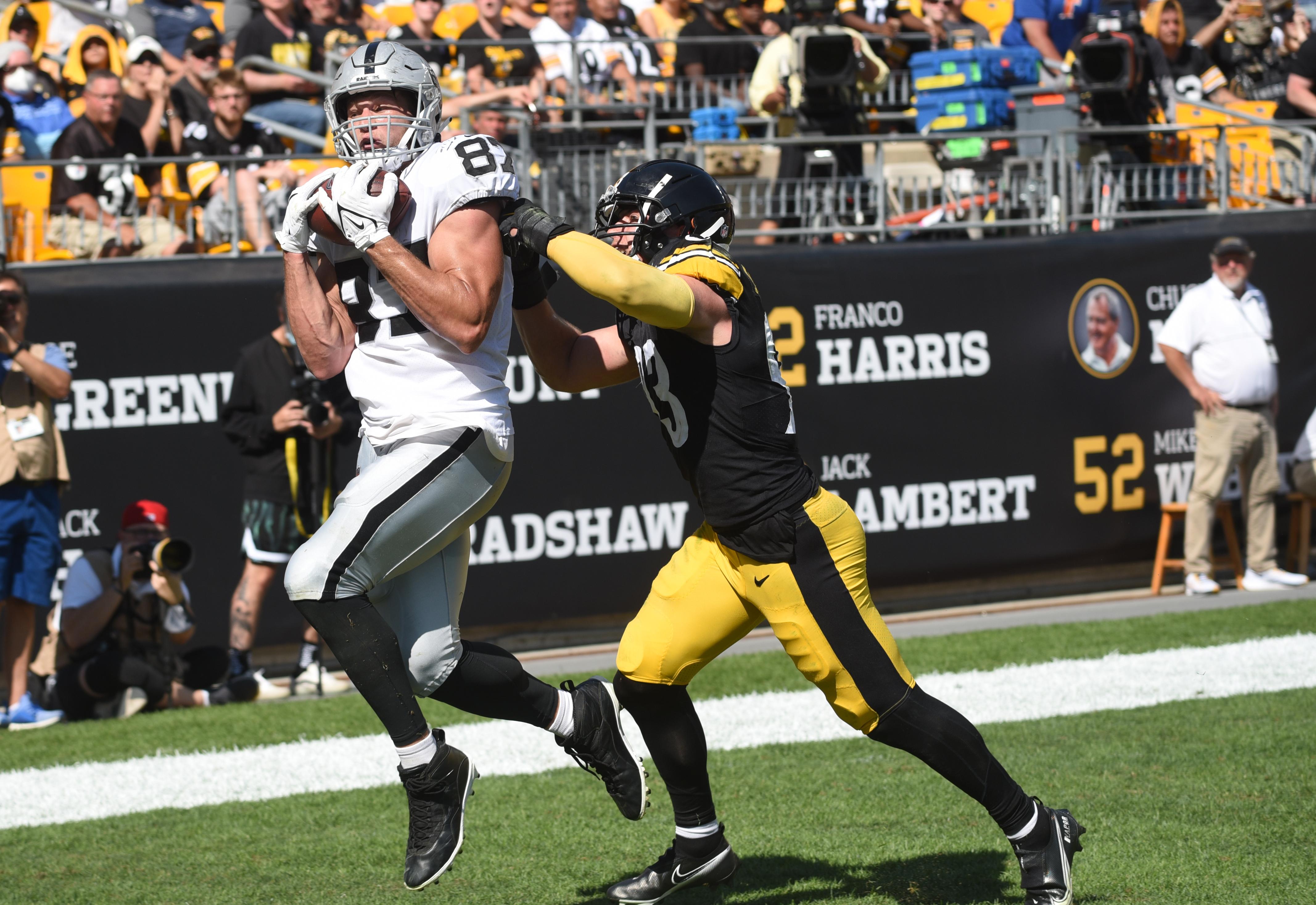 NFL: Las Vegas Raiders at Pittsburgh Steelers