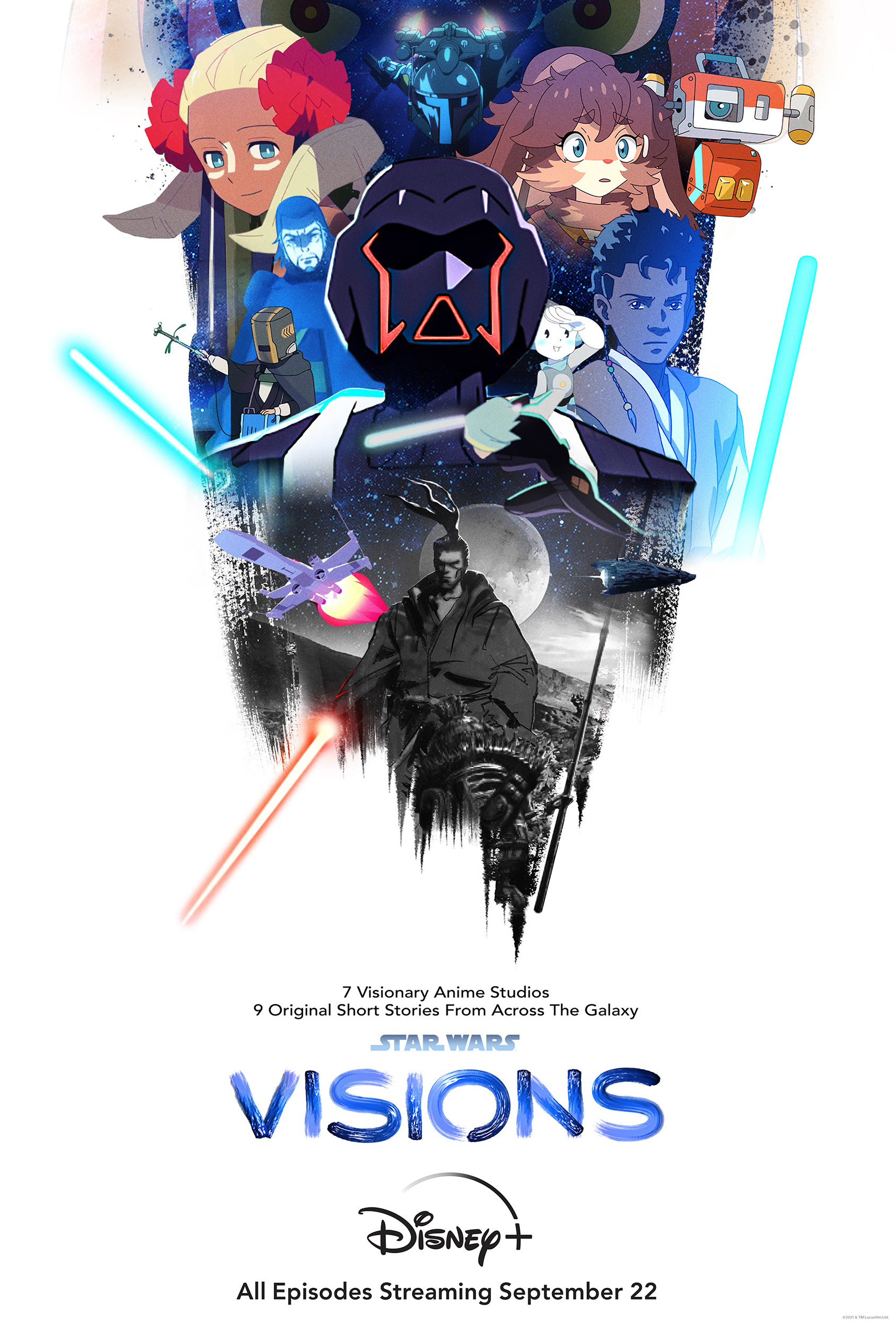 """""""Star Wars: Visions"""" series will be told in anime style."""