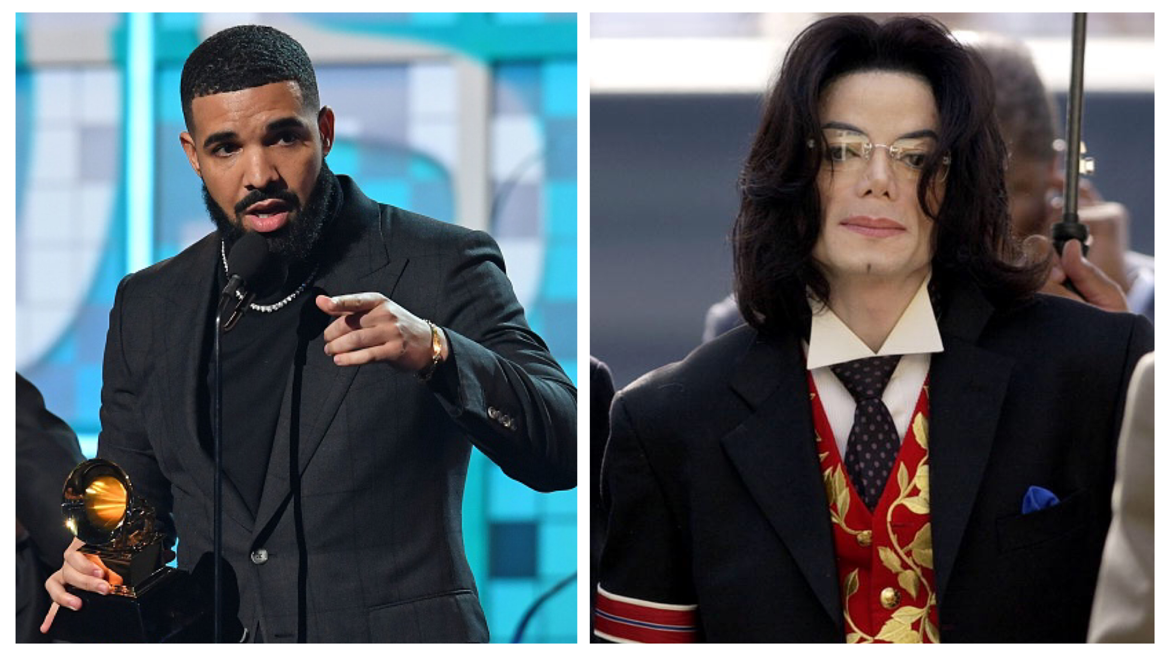 Drake and Michael Jackson