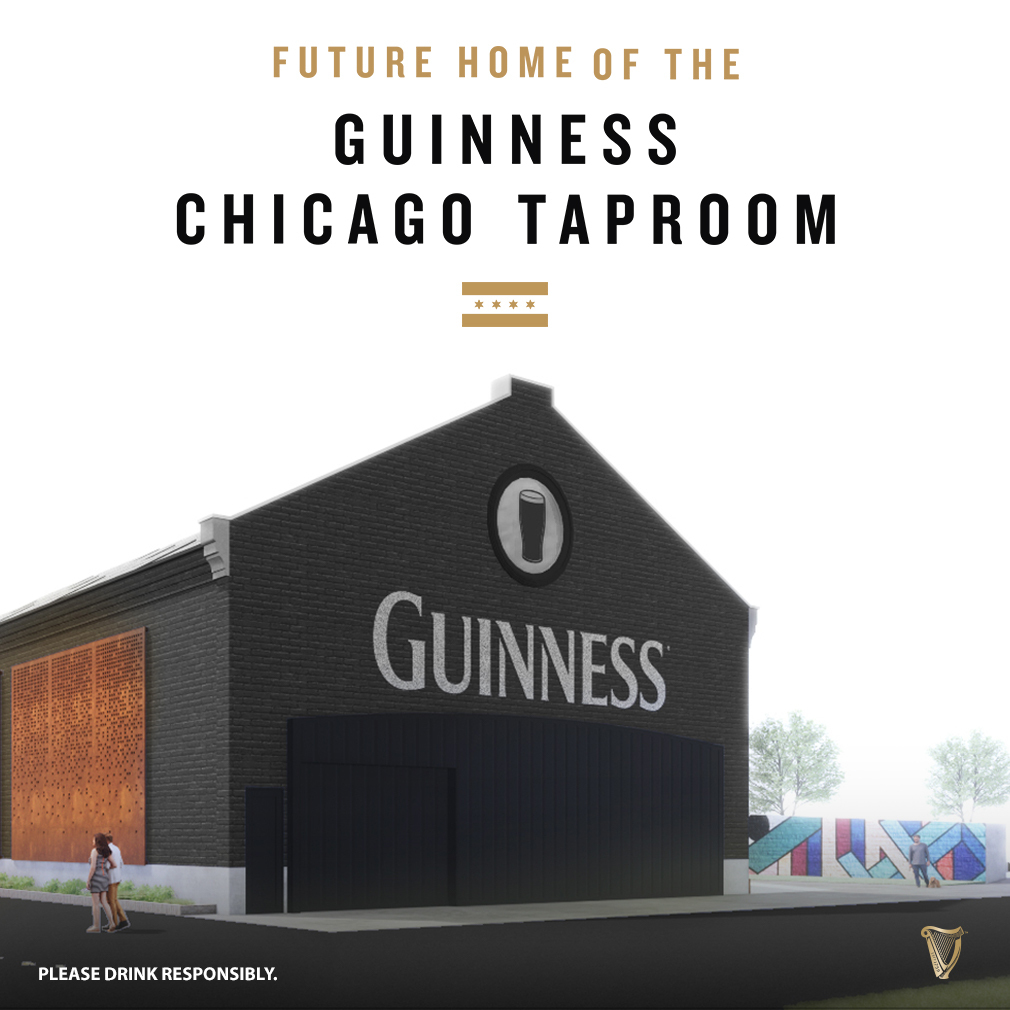 Guinness shared renderings of what it hopes the former Pennsylvania Railroad Terminal Building, 375 N. Morgan St., will look like after renovations are complete.