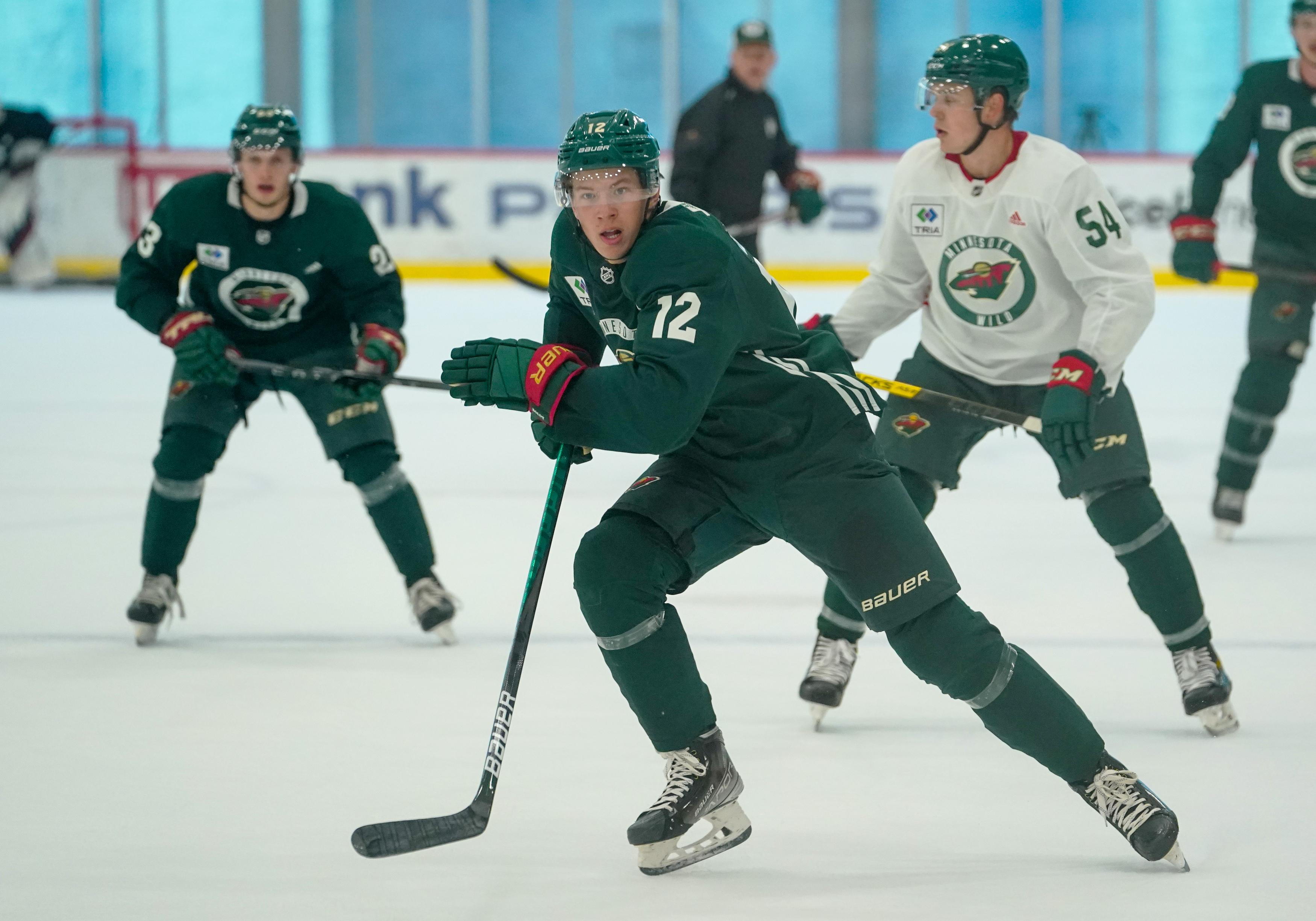 NHL: SEP 16 Wild Development Camp