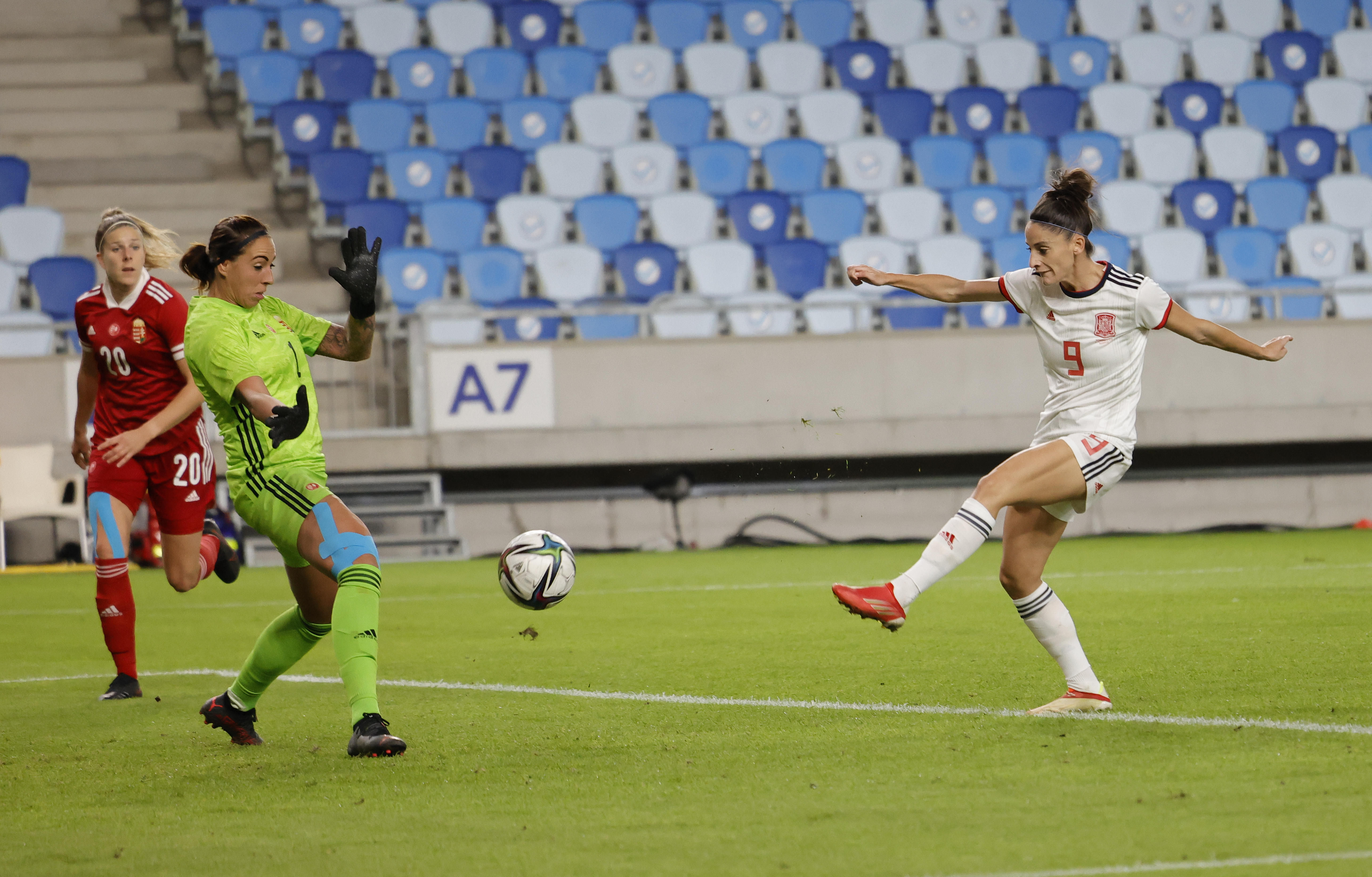 Hungary v Spain: Group B - FIFA Women's WorldCup 2023 Qualifier