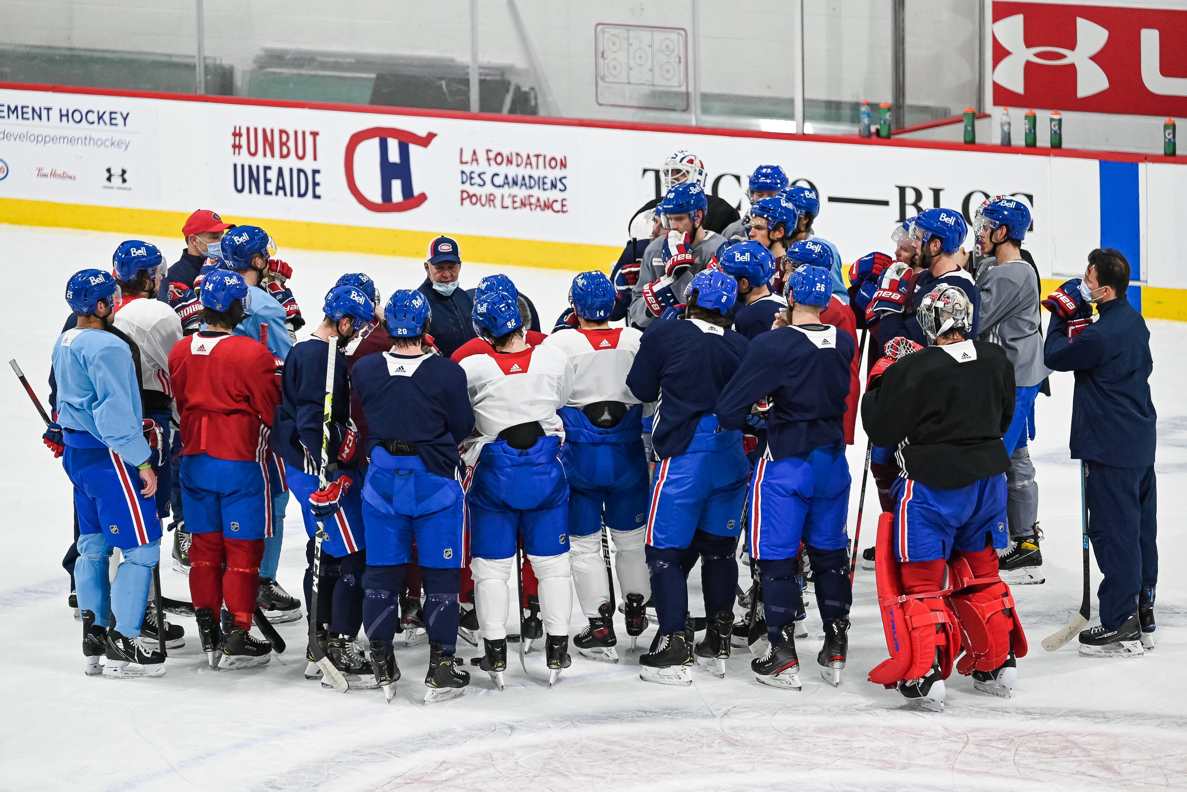 NHL: JAN 12 Canadiens Training Camp