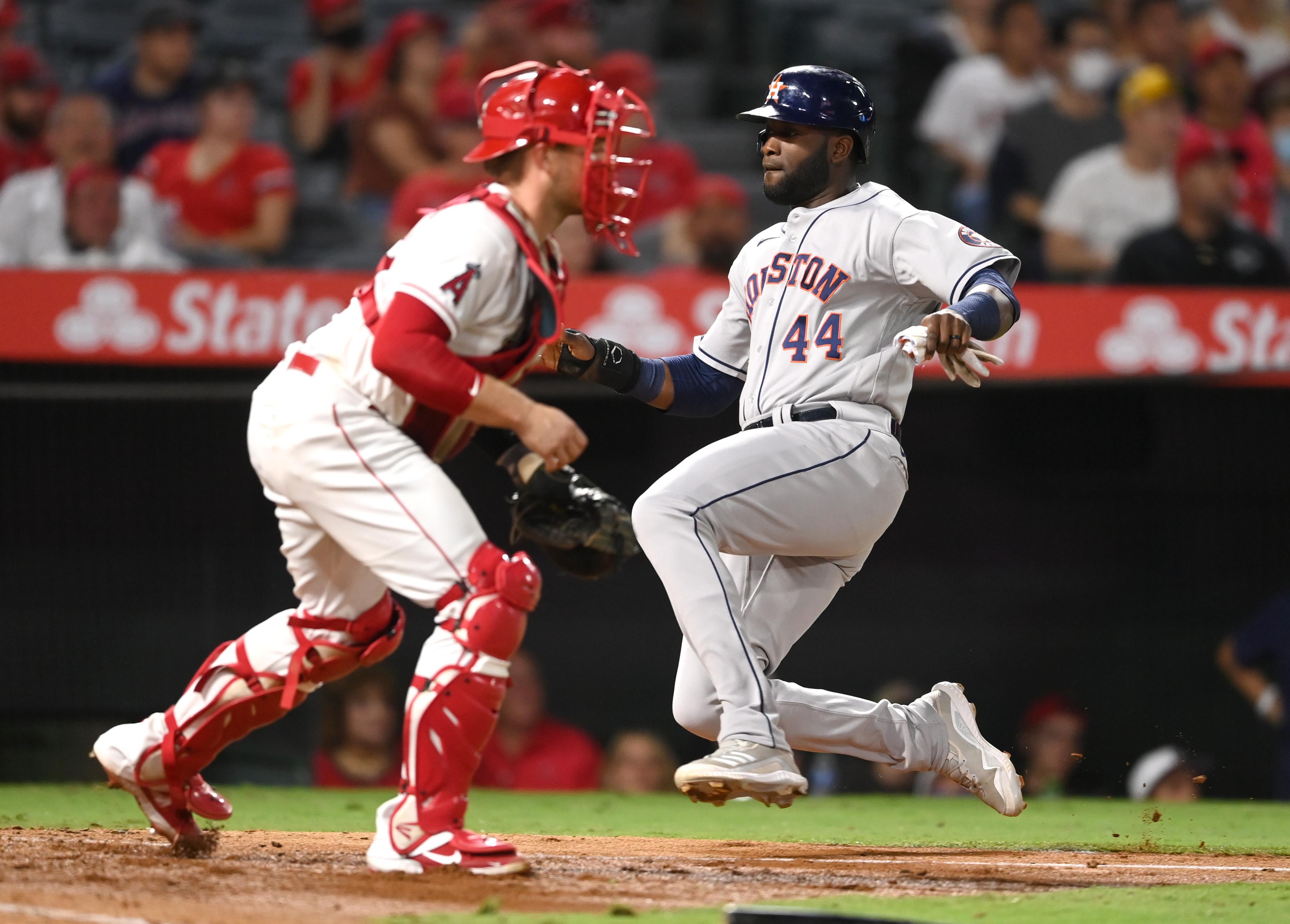 Houston Astros v Los Angeles Angels