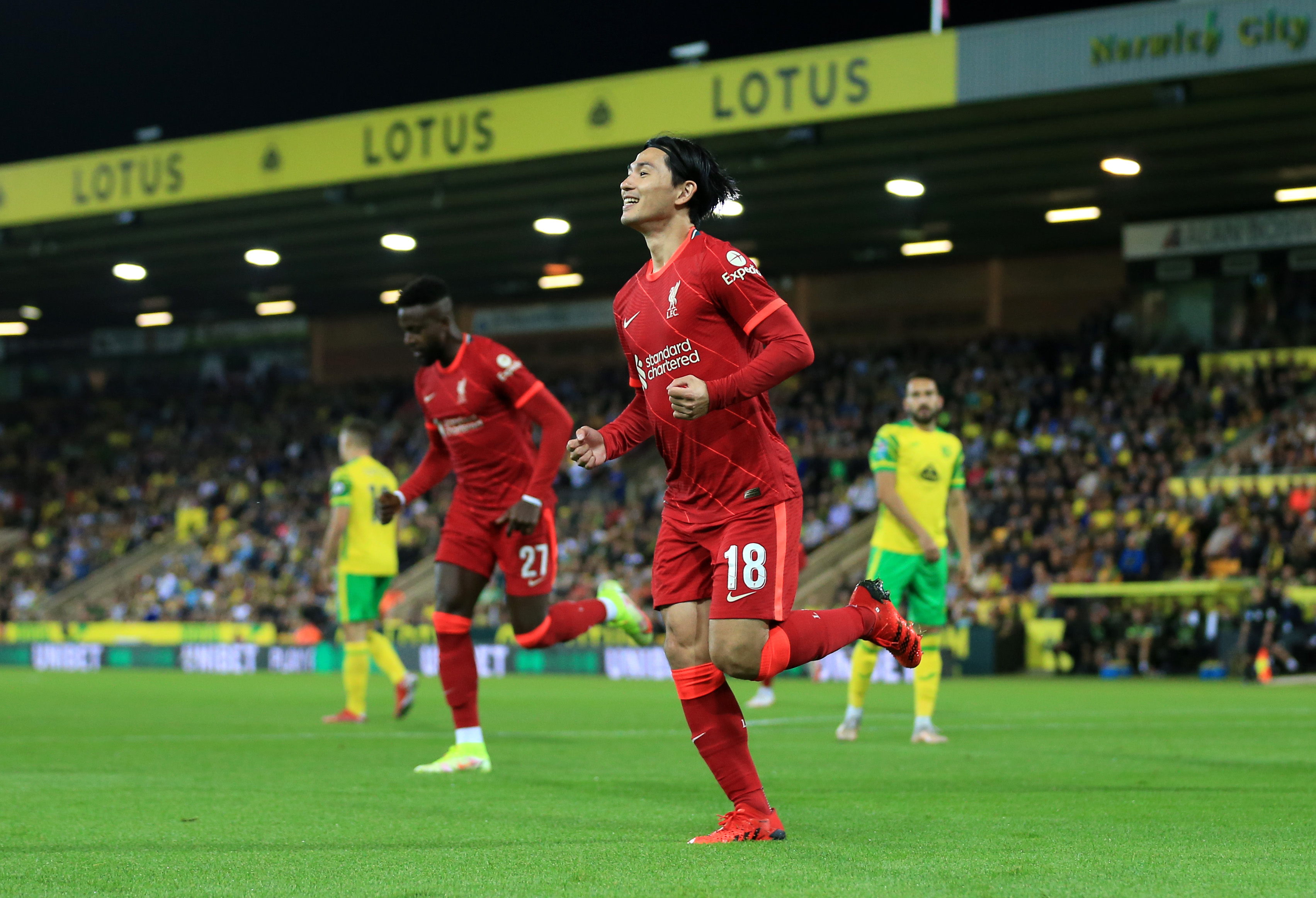Norwich City v Liverpool - Carabao Cup Third Round