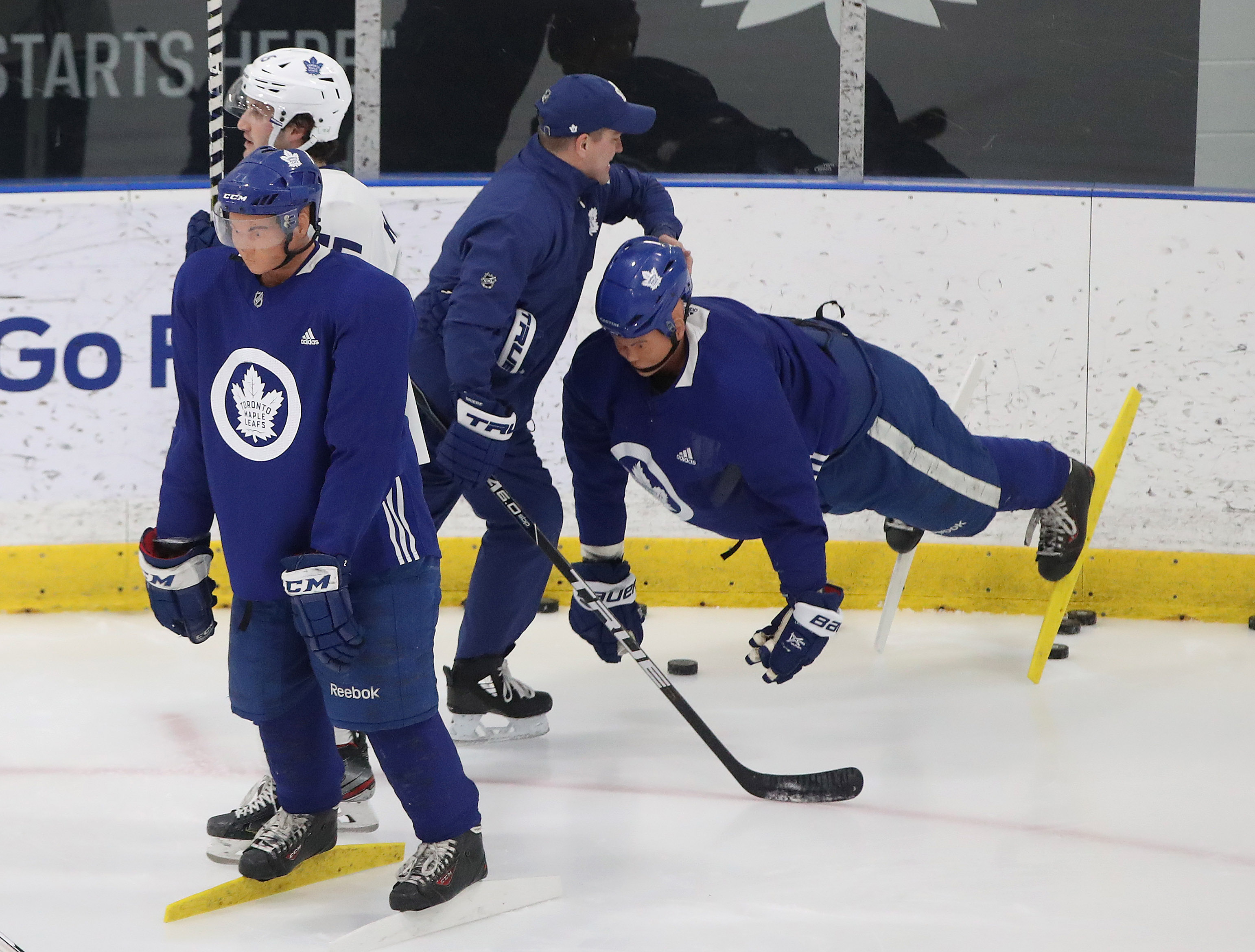 the Toronto Maple Leafs host their mentors road trip