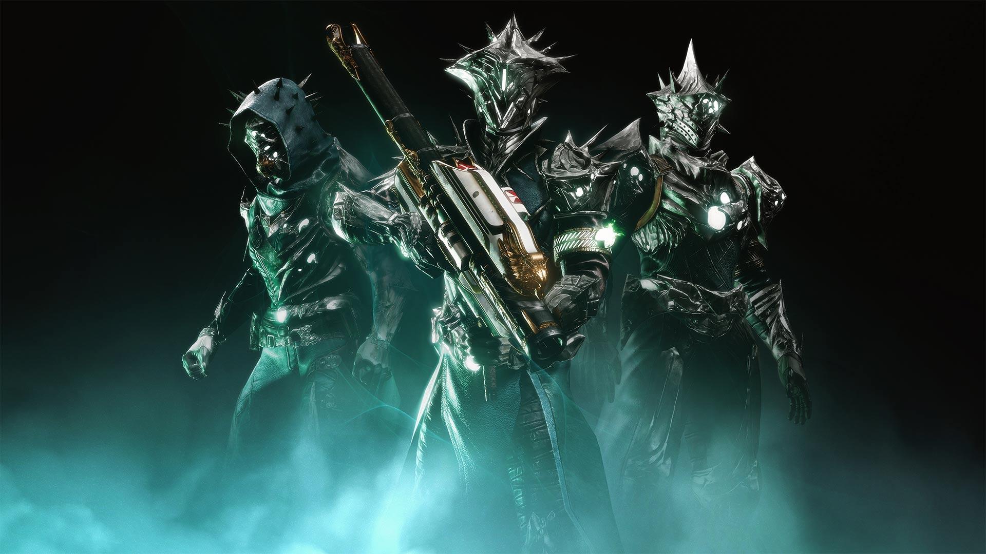 Destiny 2 30th Anniversary armor and Gjallarhorn